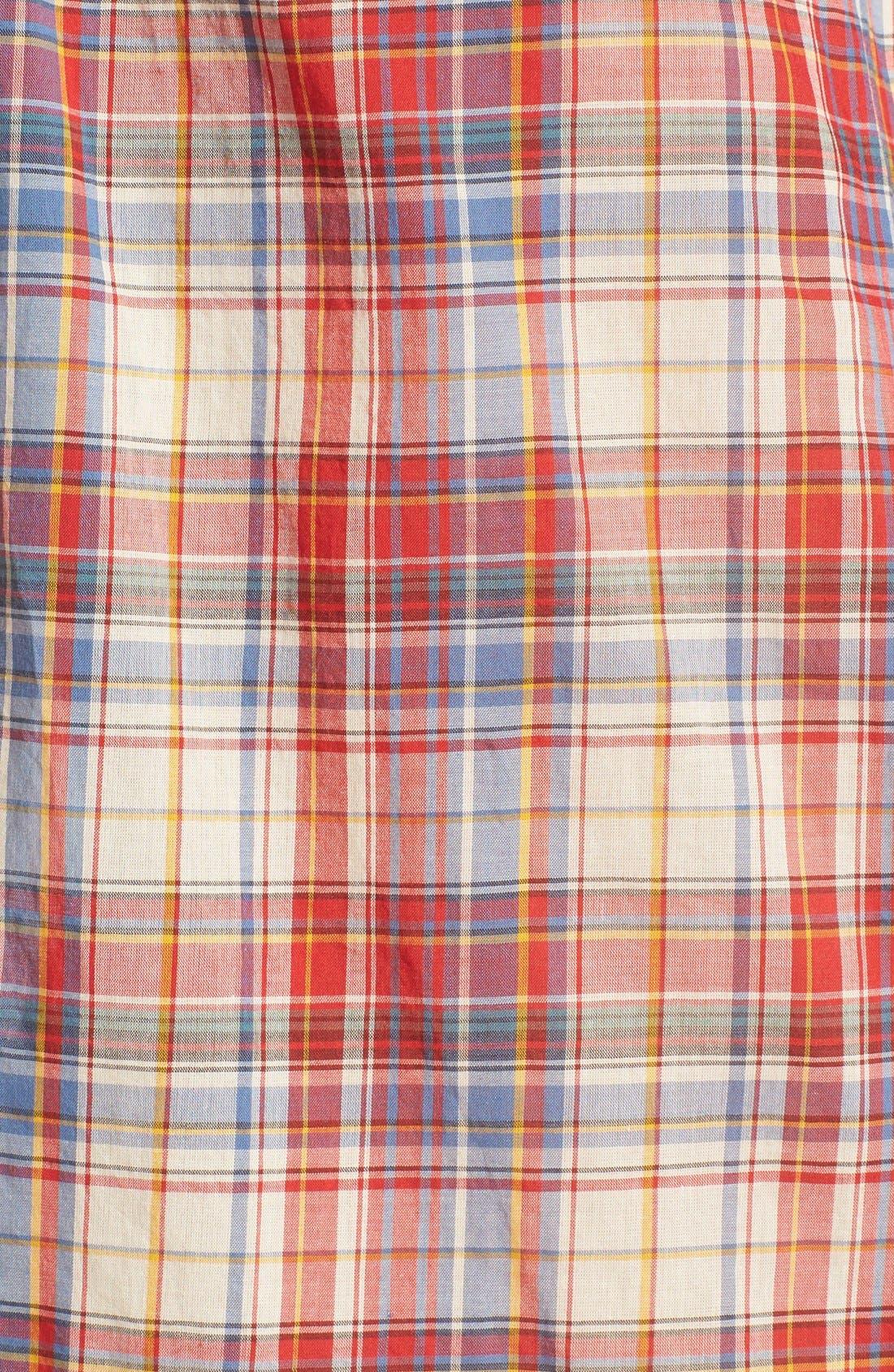 Alternate Image 5  - Madewell Plaid Boxy Cotton Shirt