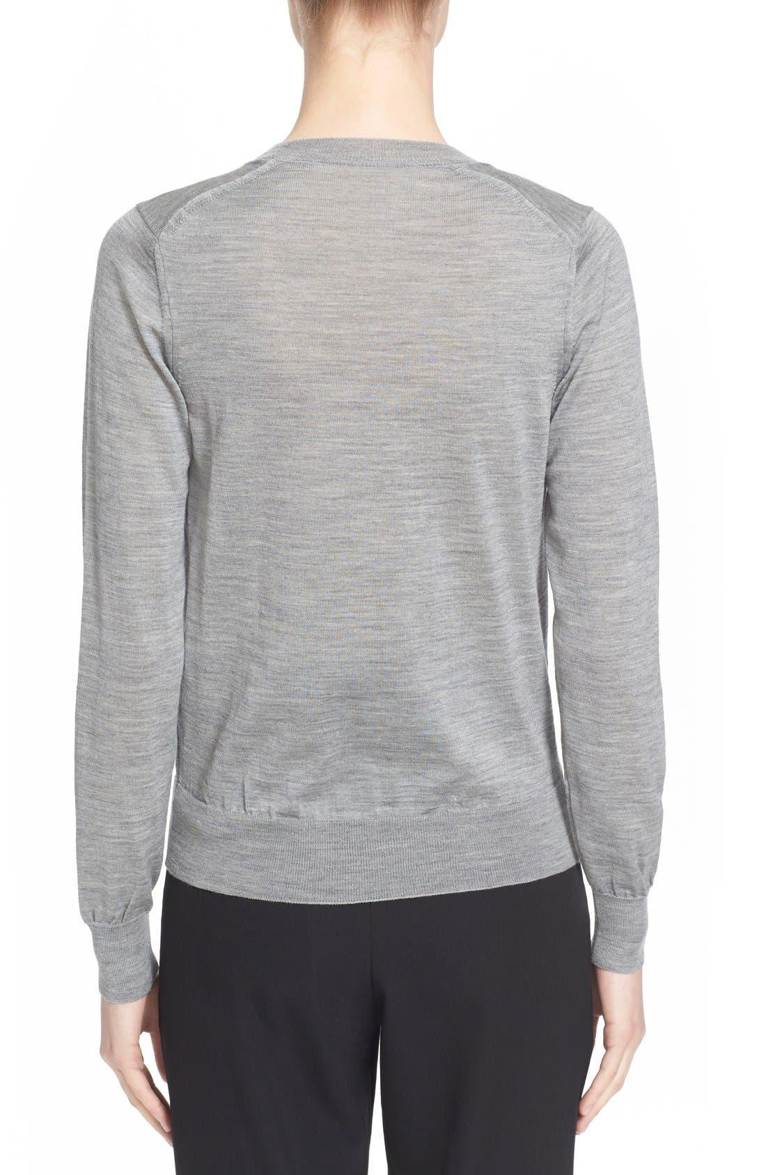 Alternate Image 2  - Comme des Garçons Crewneck Wool Pullover