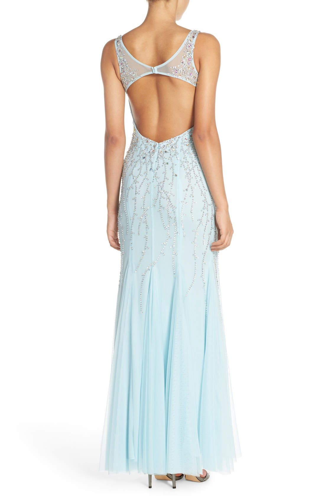 Alternate Image 2  - Sean Collection Embellished Gown