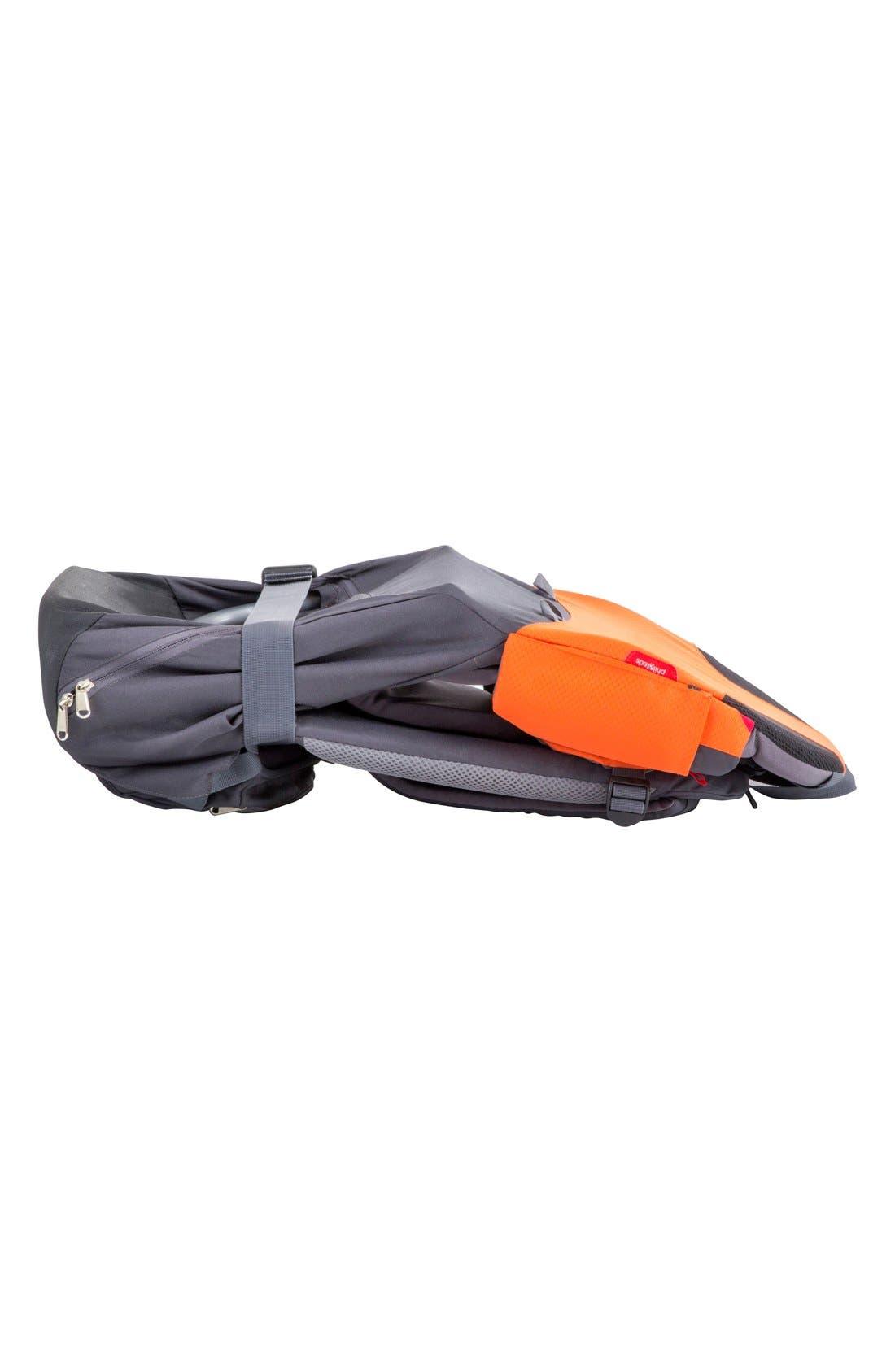 'Parade' Backpack Carrier,                             Alternate thumbnail 3, color,                             Orange/ Grey