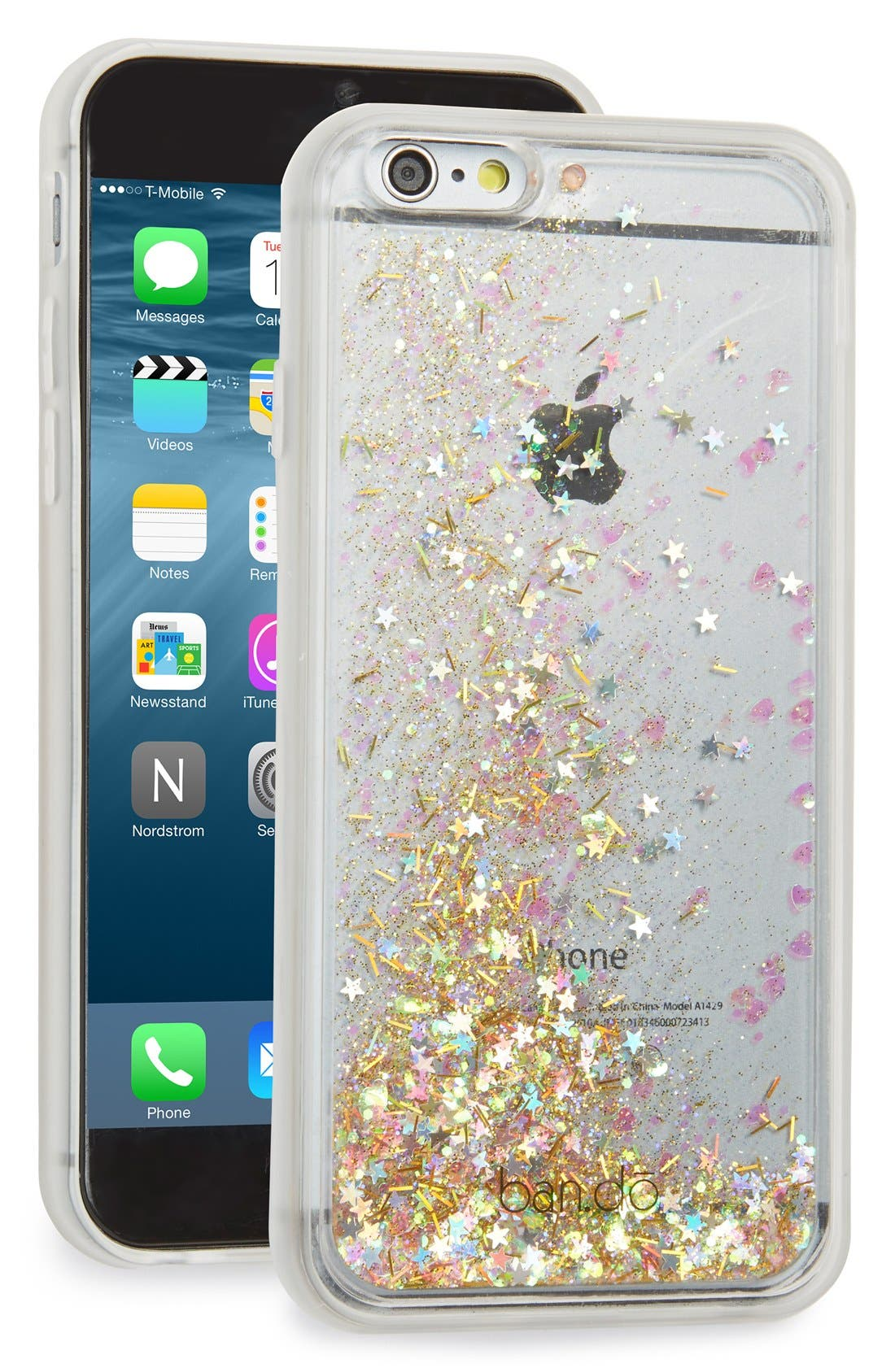 Alternate Image 1 Selected - ban.do 'Glitter Bomb' iPhone 6 & 6s Case