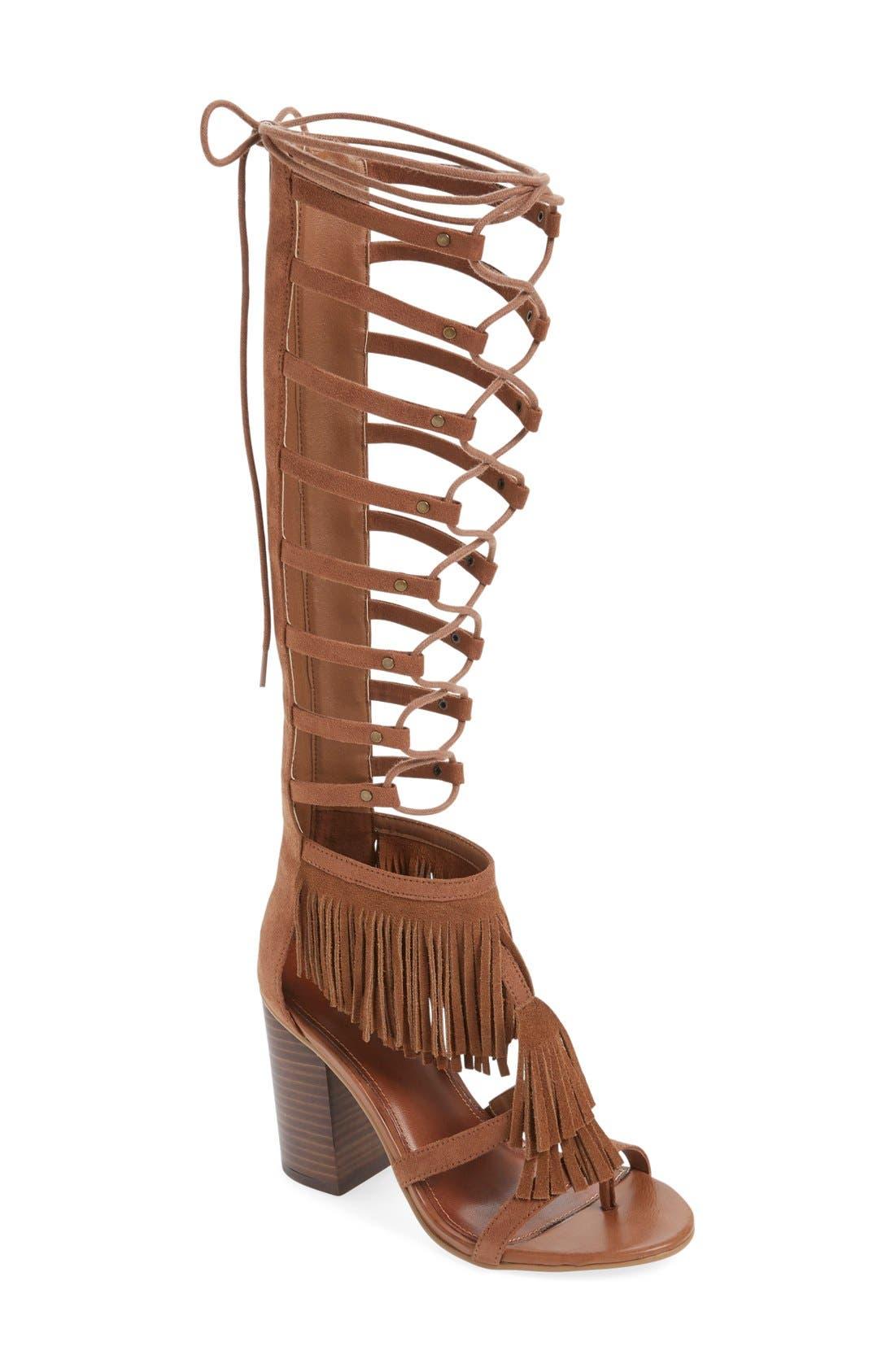 Alternate Image 1 Selected - MIA 'Ricarda' Gladiator Sandal (Women)