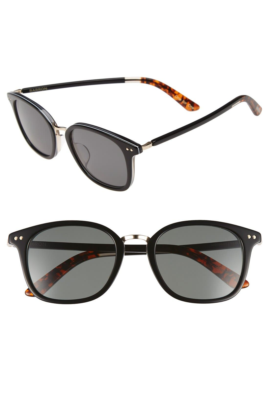 Alternate Image 1 Selected - TOMS 'Barron' 49mm Sunglasses