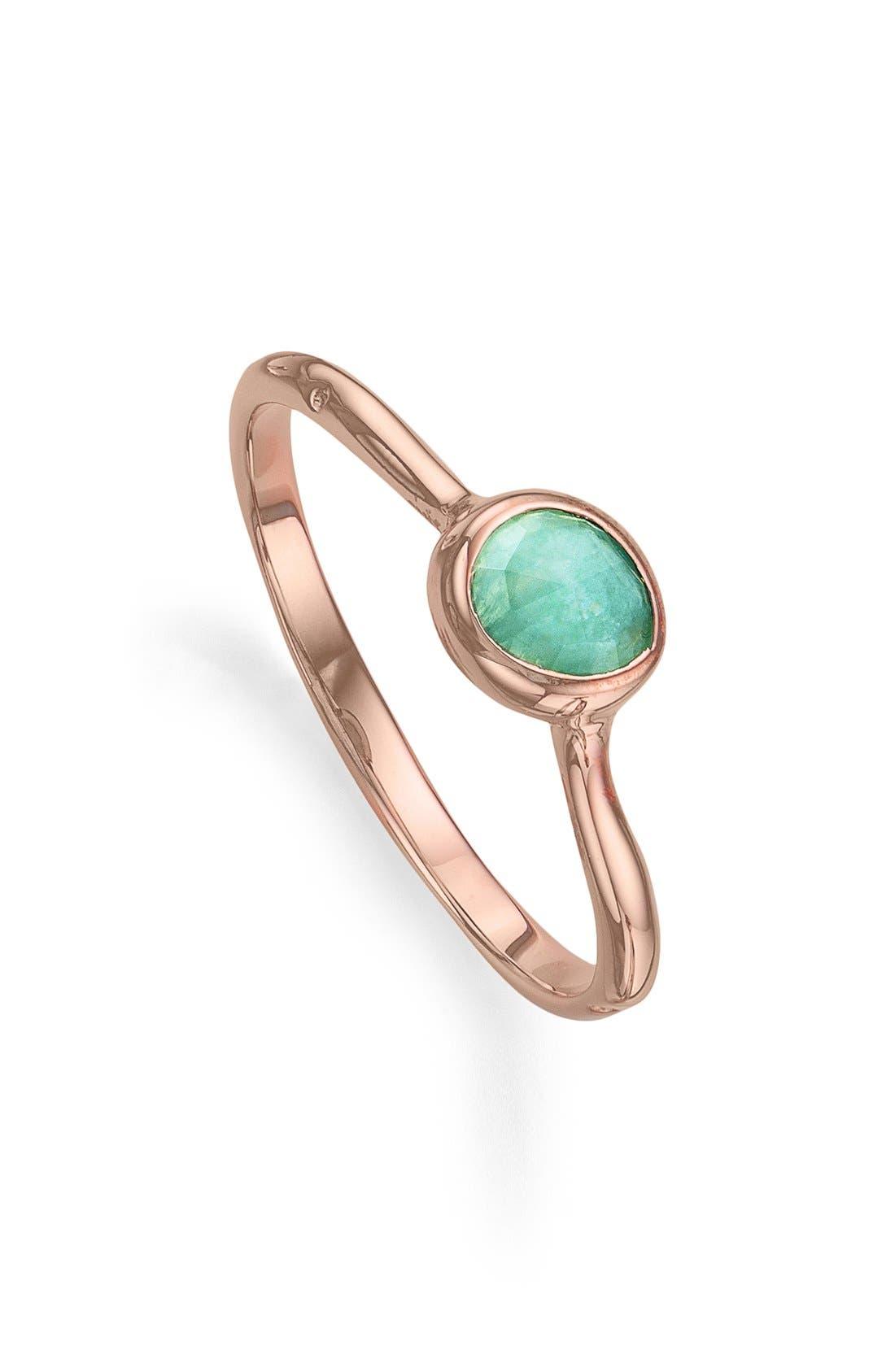 Main Image - Monica Vinader 'Siren' Small Stacking Ring