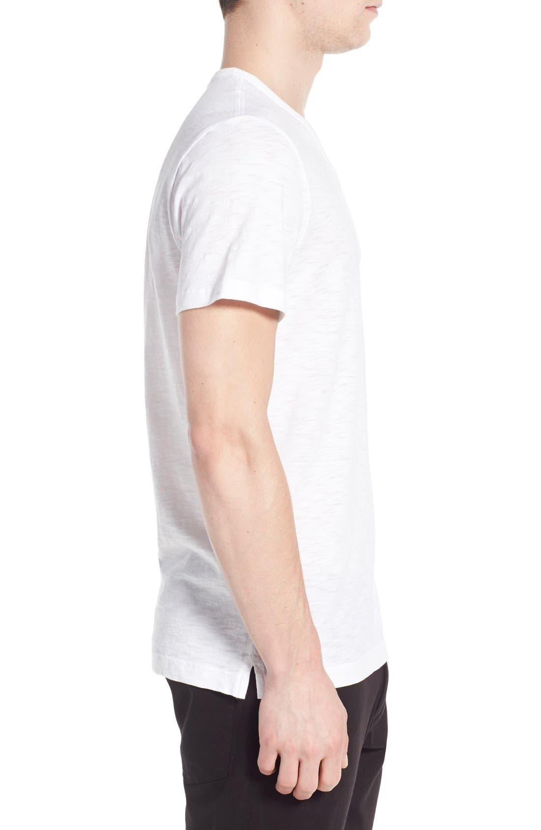 Alternate Image 3  - Vince Slub V-Neck T-Shirt