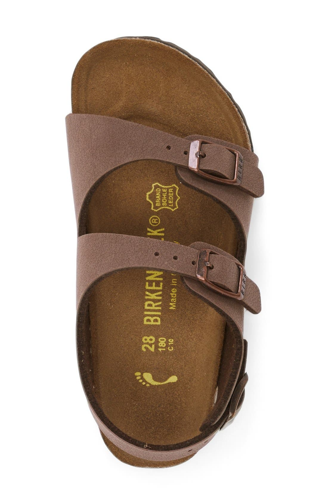 Alternate Image 3  - Birkenstock 'Roma' Sandal (Walker, Toddler & Little Kid)