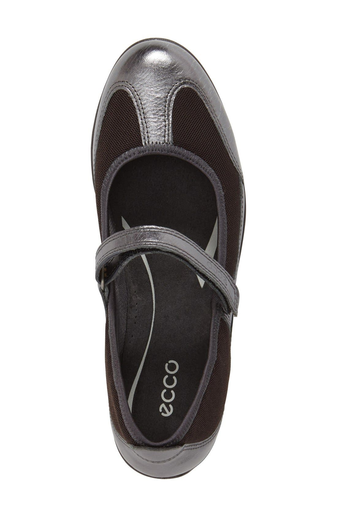 Alternate Image 3  - ECCO 'Bluma' Mary Jane Flat (Women)