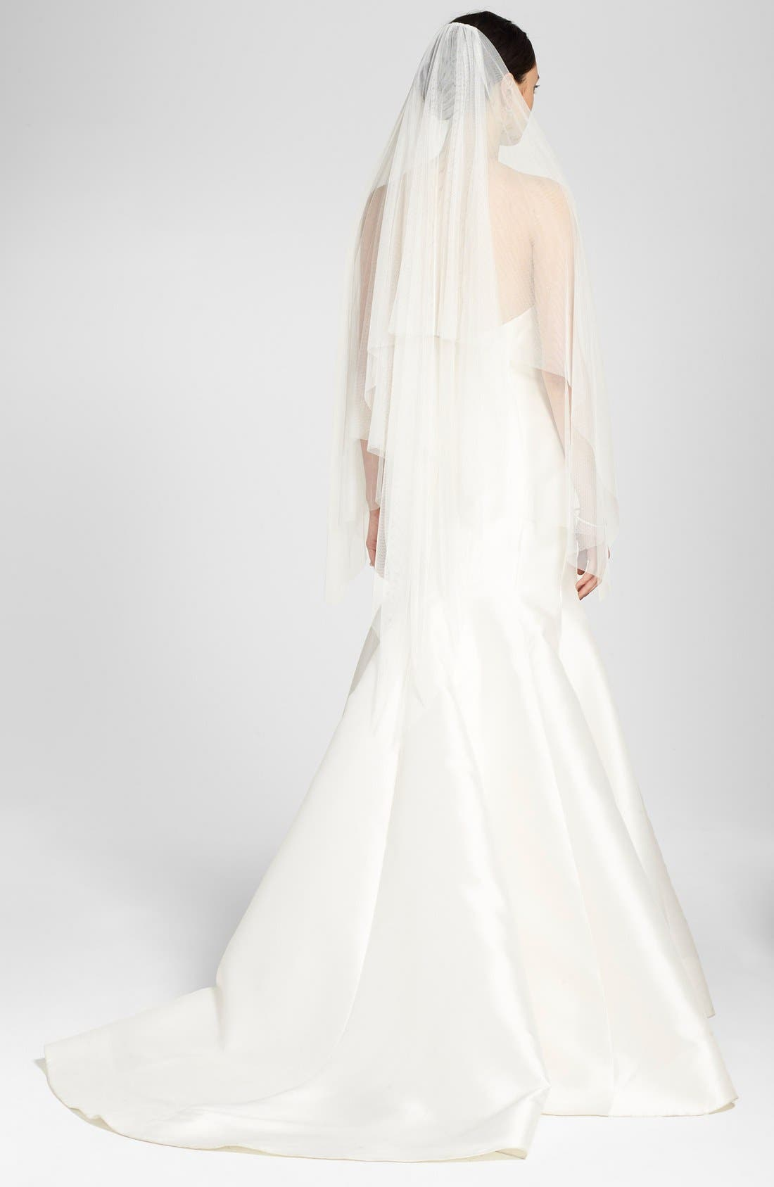 Toni Federici 'Padma' Spanish Tulle Waltz Length Veil