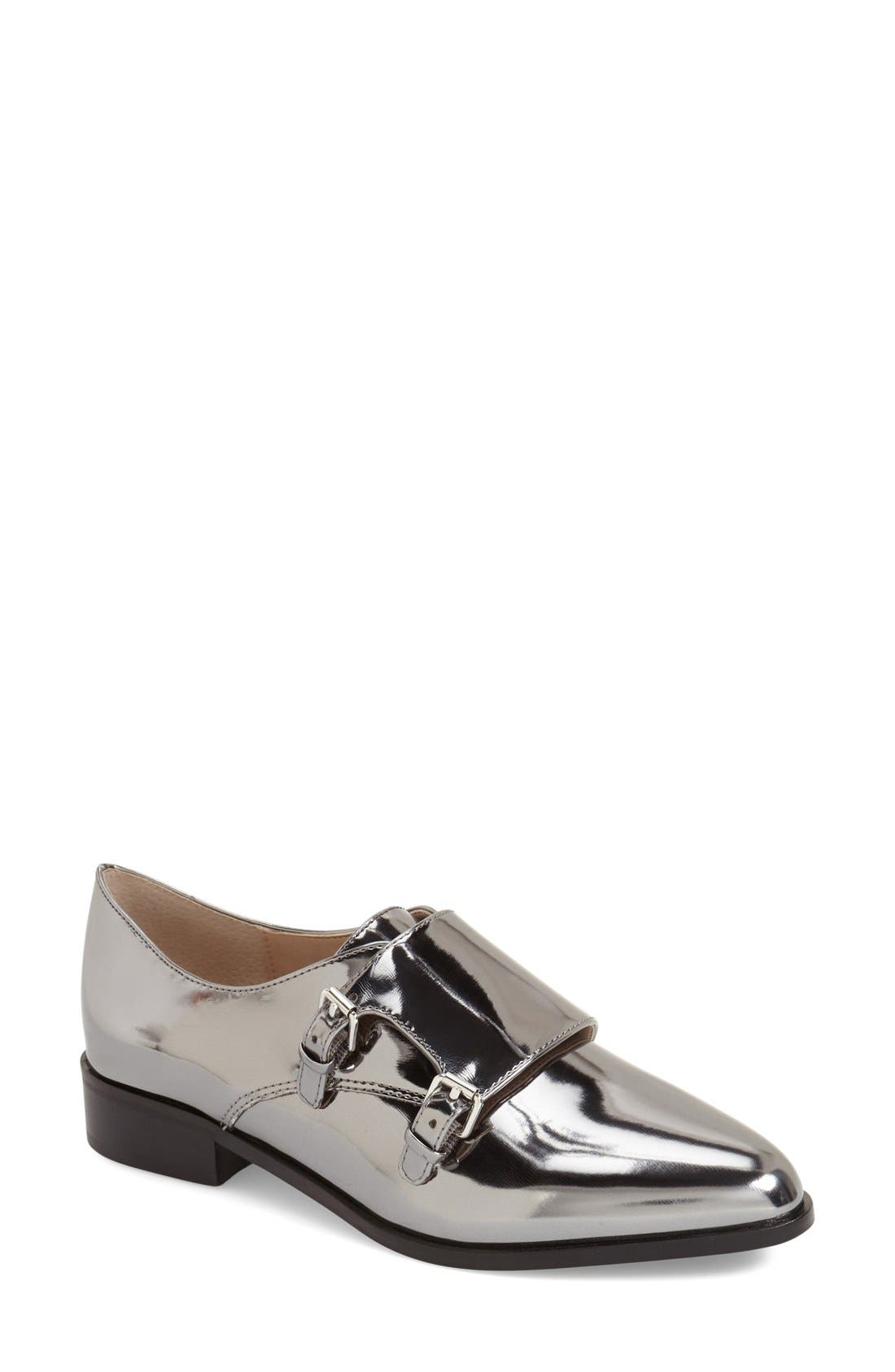 Alternate Image 1 Selected - French Connection 'Lorinda' Monk Strap Loafer (Women)