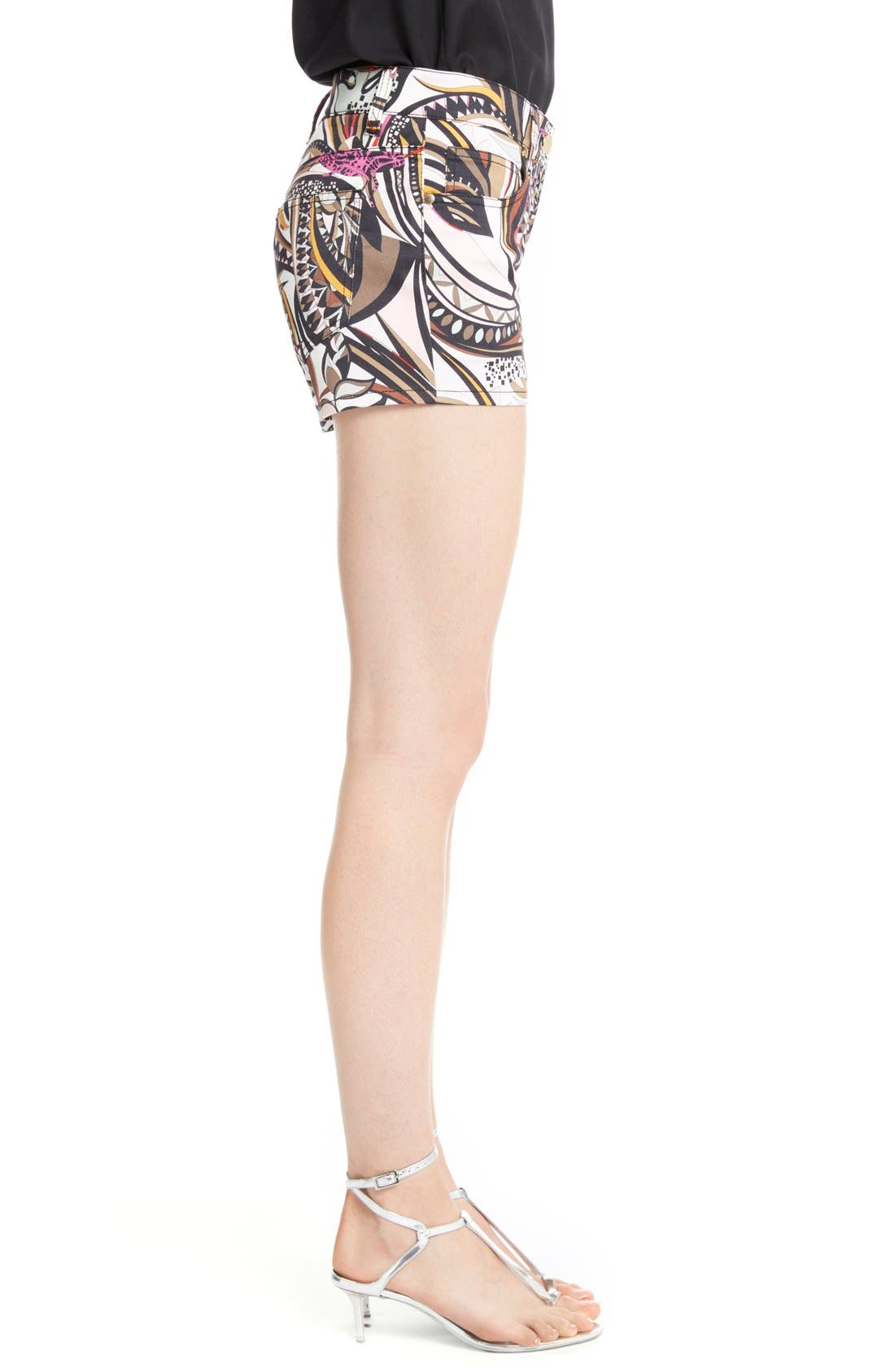 Alternate Image 4  - Emilio Pucci Print Stretch Cotton Shorts