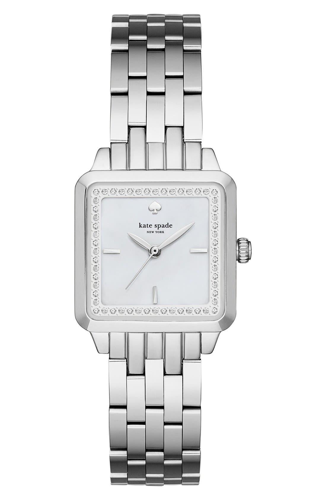Alternate Image 1 Selected - kate spade new york washington square bracelet watch, 25mm
