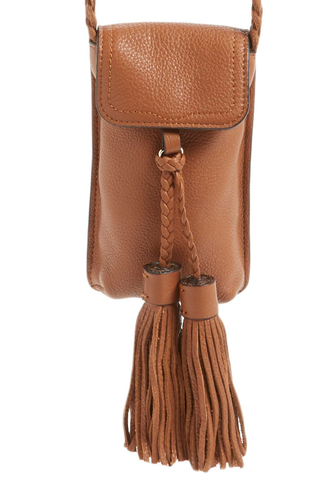 Alternate Image 1 Selected - Rebecca Minkoff Isobel Phone Crossbody Bag