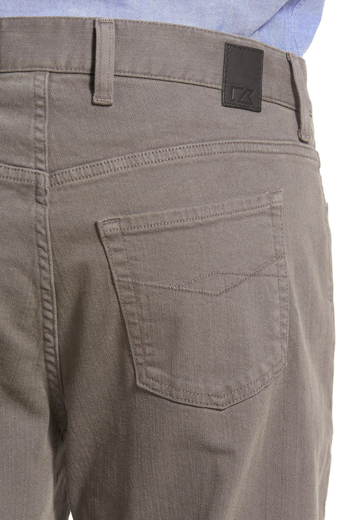 Alternate Image 4  - Cutter & Buck 'Greenwood' Relaxed Fit Jeans