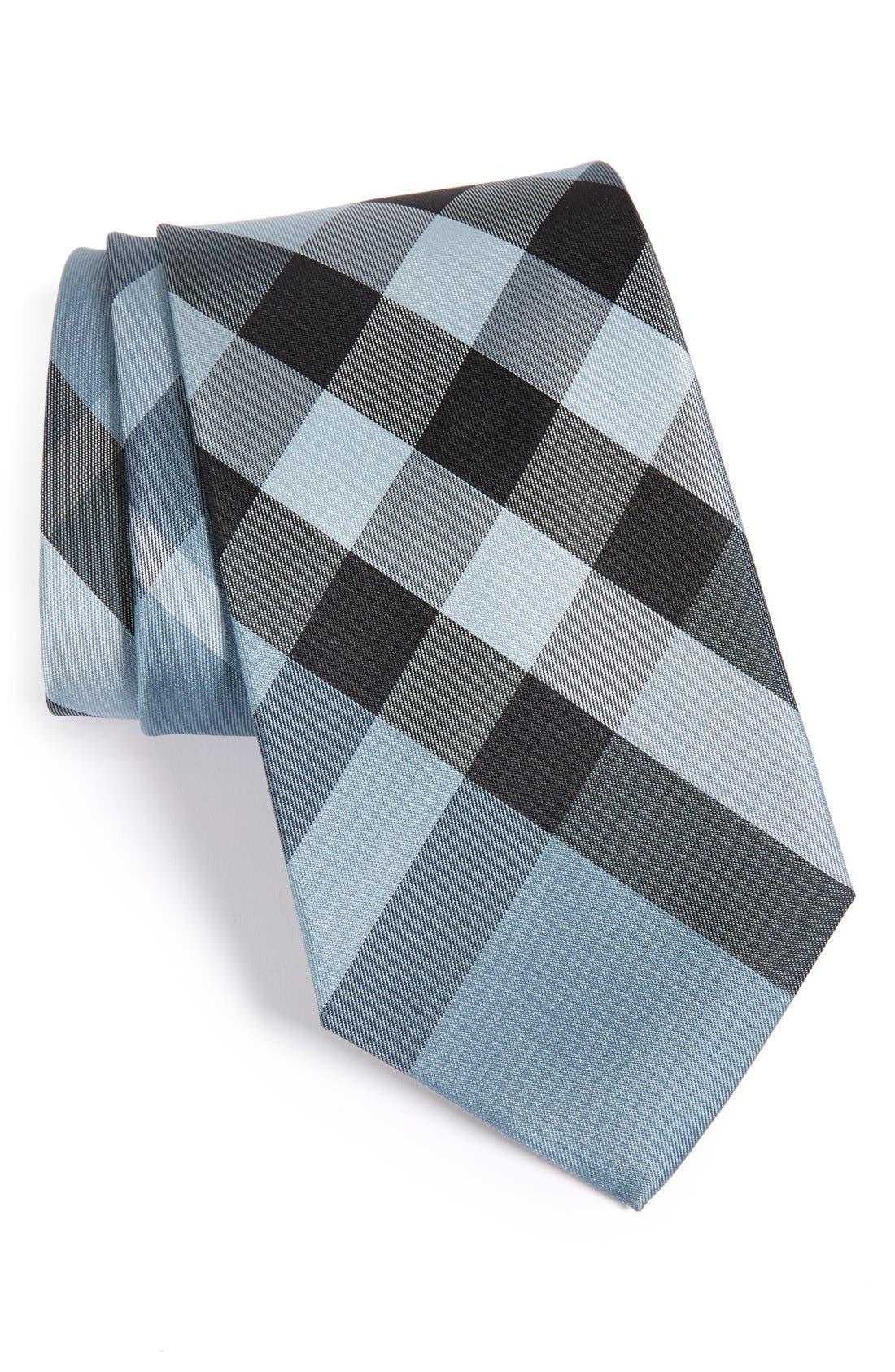 BURBERRY London Clinton Check Silk Tie
