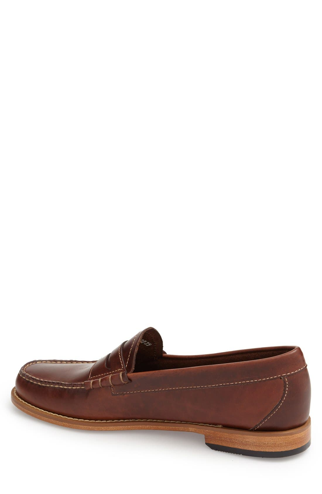 'Larson - Weejuns' Penny Loafer,                             Alternate thumbnail 2, color,                             Seahorse Leather