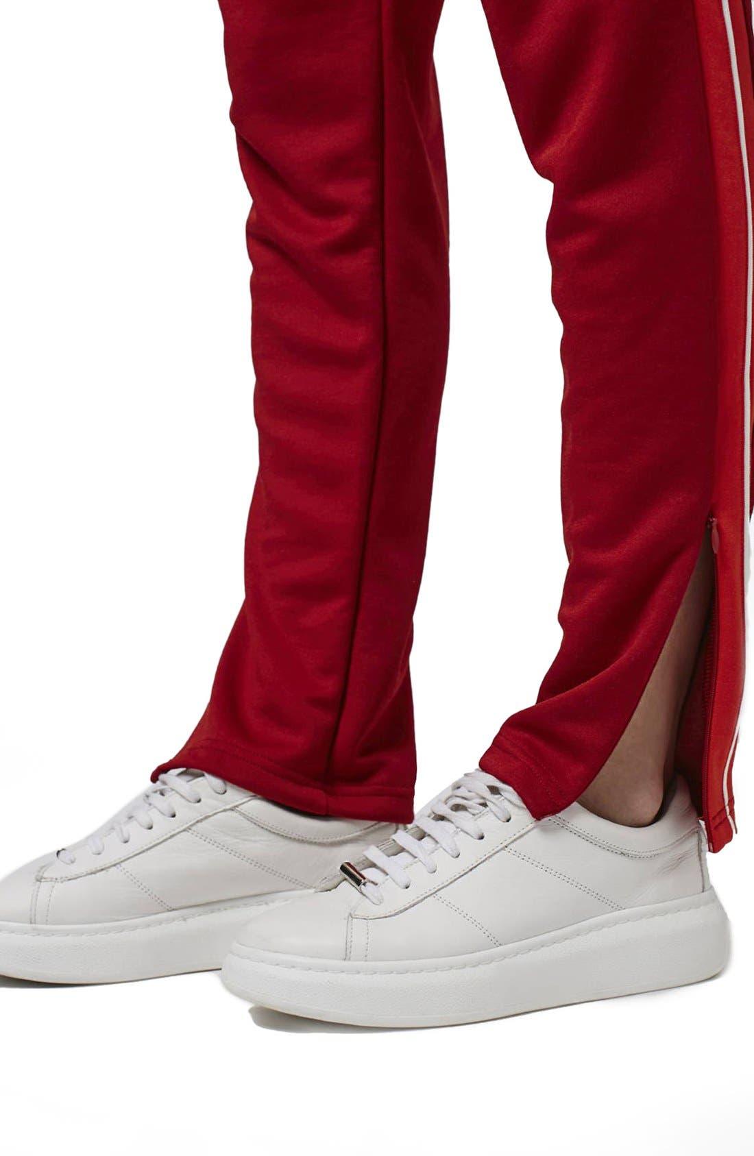 Alternate Image 5  - Topshop Side Stripe Track Pants