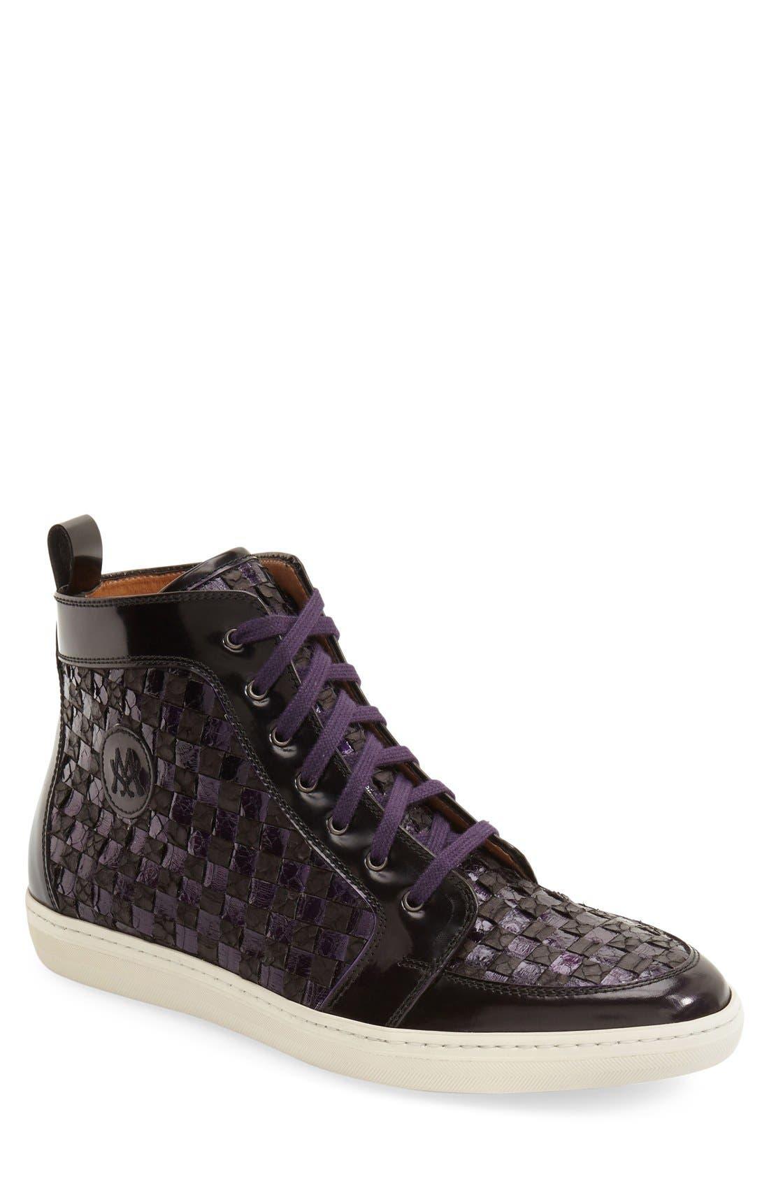 Alternate Image 1 Selected - Mezlan 'Colonia' High Top Sneaker (Men)