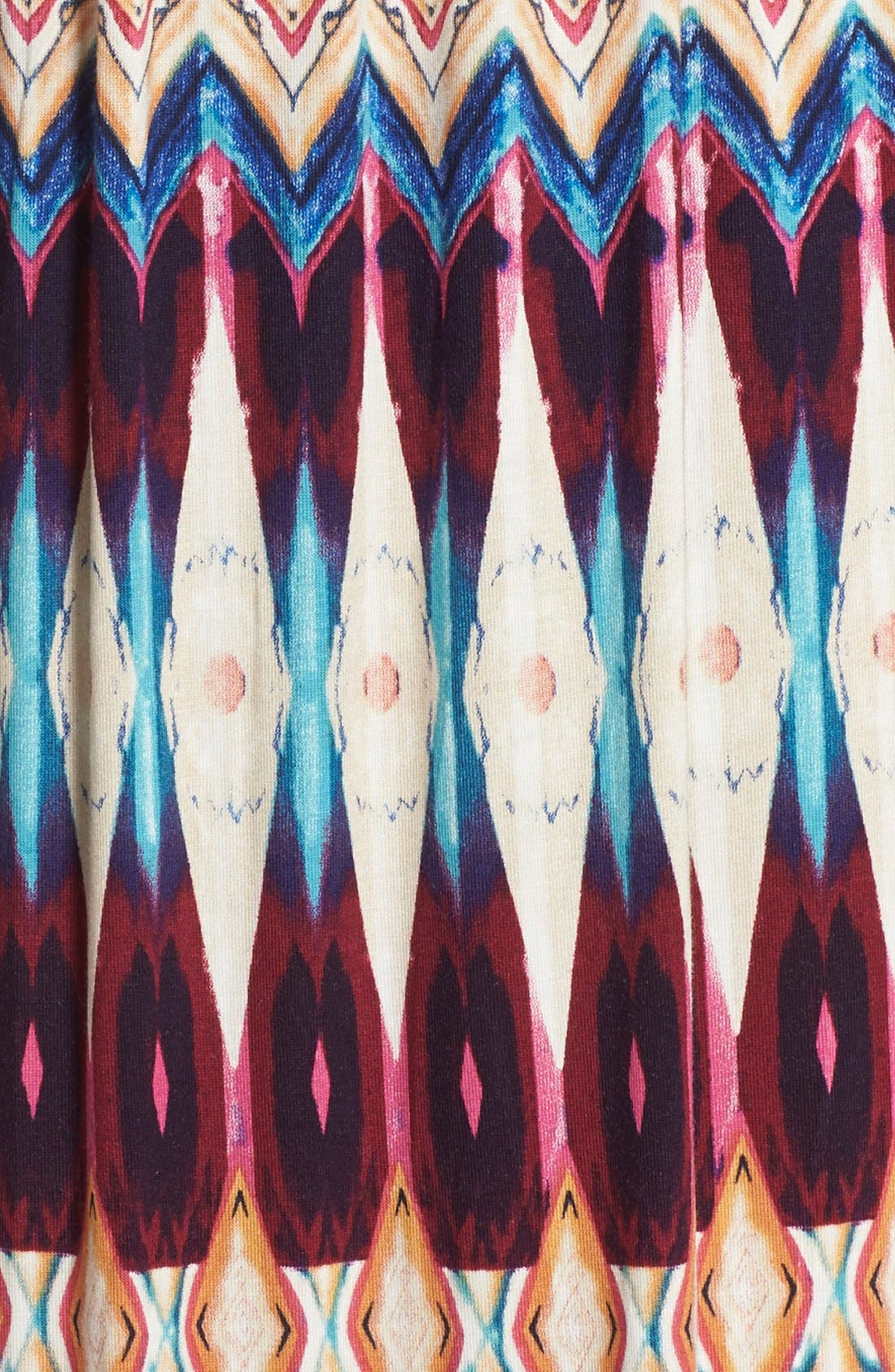 Alternate Image 6  - Felicity & Coco Floral Print Jersey Maxi Dress (Regular & Petite) (Nordstrom Exclusive)