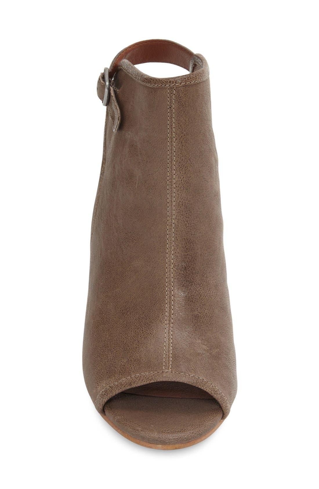 Alternate Image 3  - Lucky Brand 'Risza' Open Toe Wedge Bootie (Women)