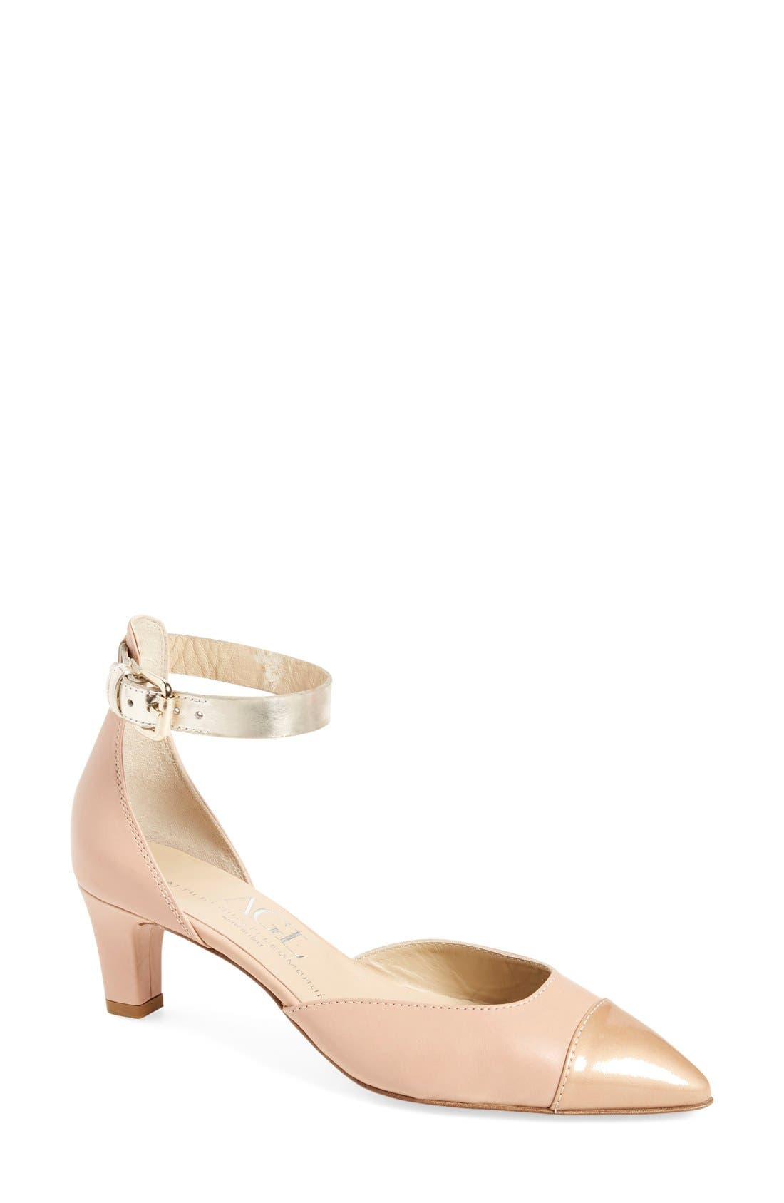 Alternate Image 1 Selected - AGL 'Claire' Ankle-Strap Pump (Women)