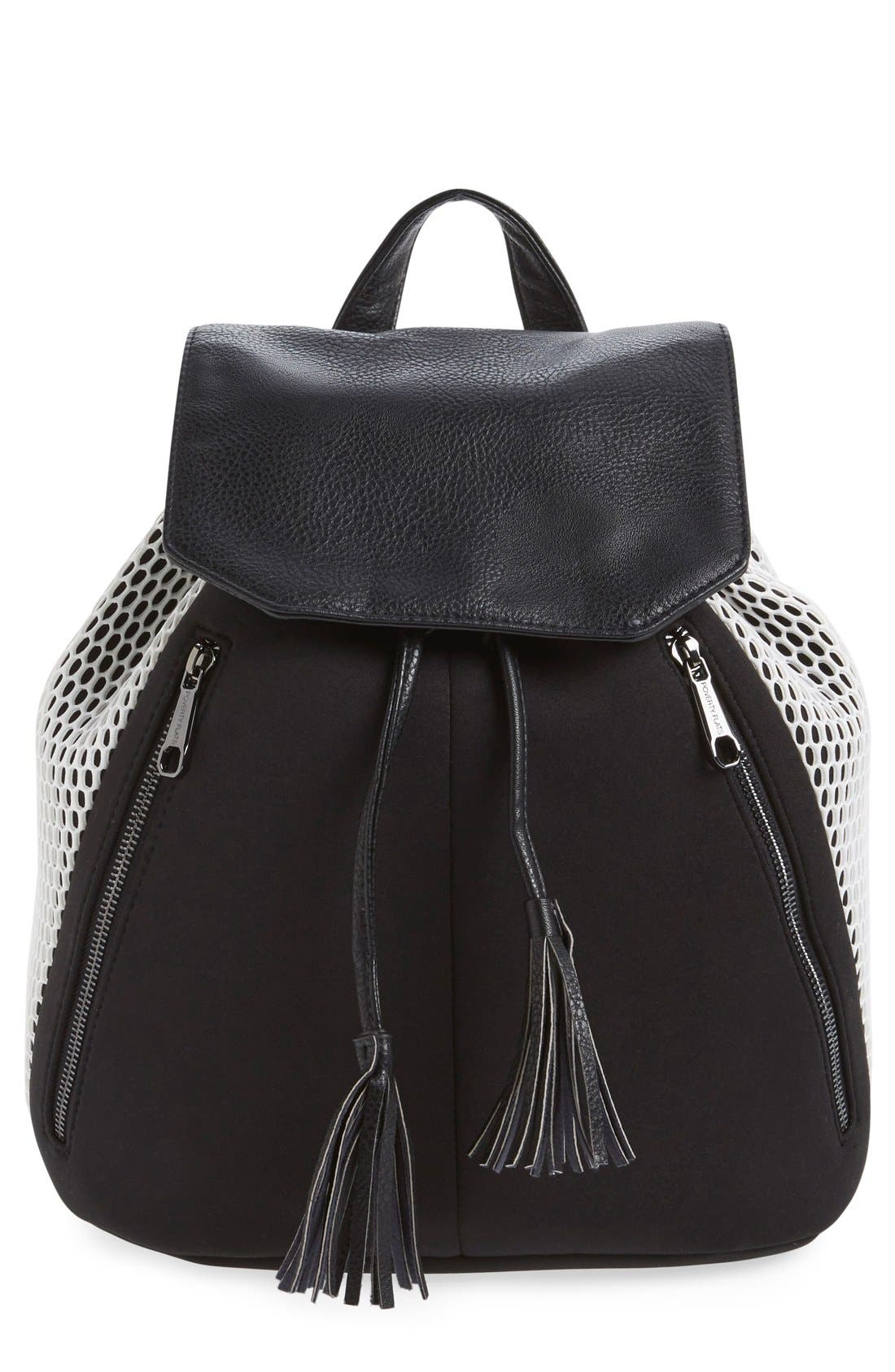 Alternate Image 1 Selected - POVERTY FLATS by rian Mesh Backpack