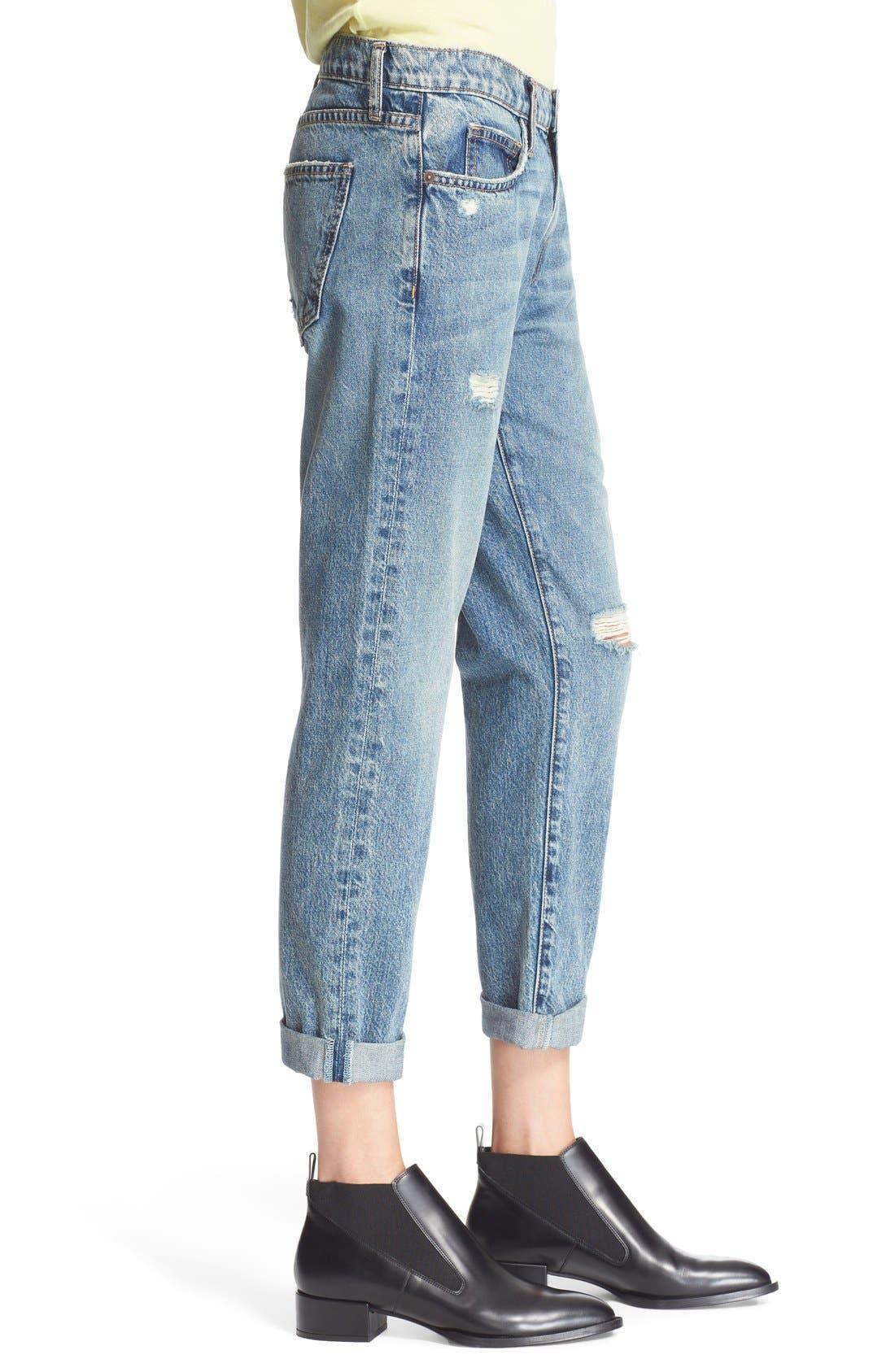 Alternate Image 3  - Current/Elliott 'The Fling' Jeans (Bedford Destroyed)