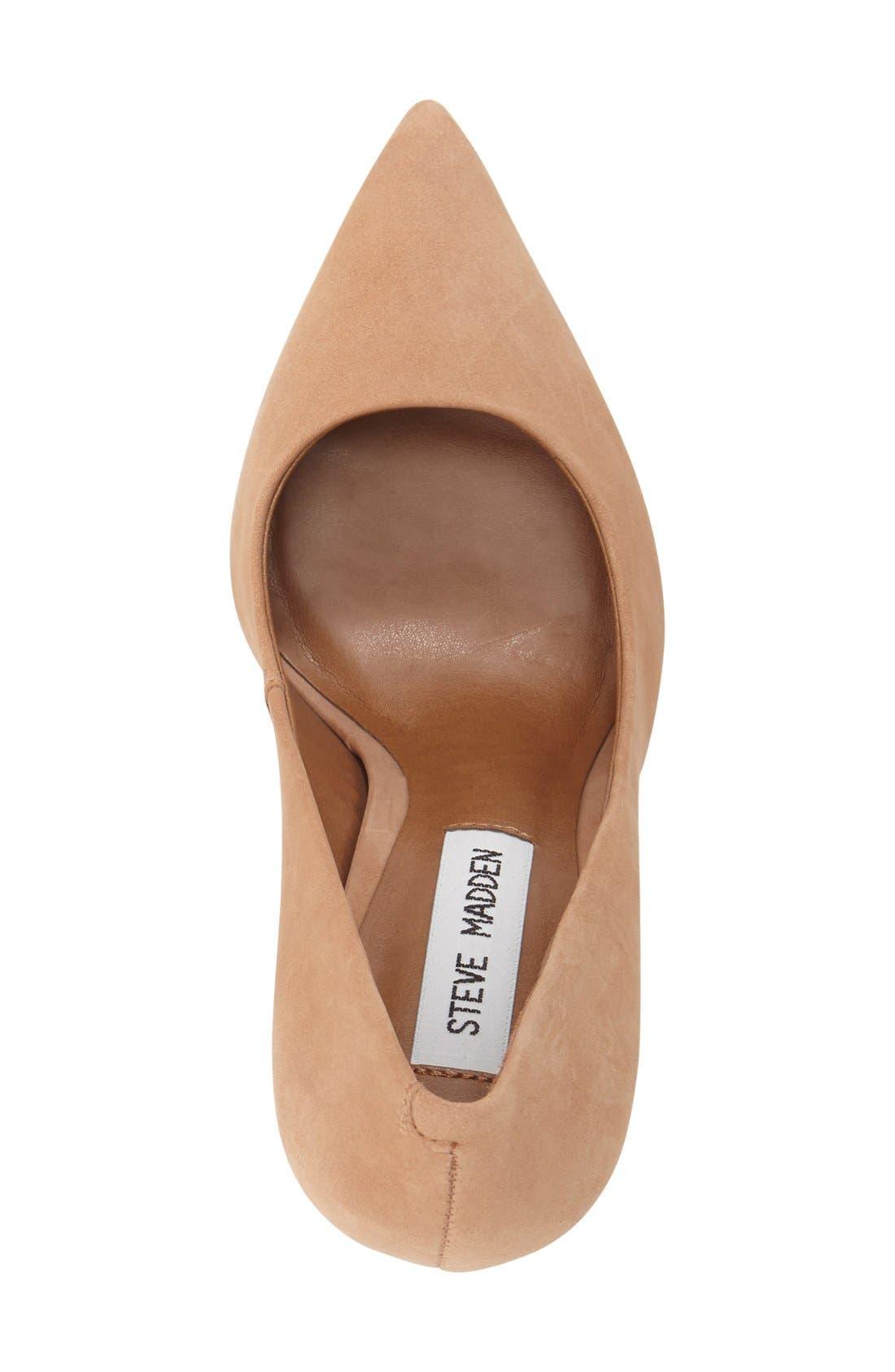Alternate Image 3  - Steve Madden 'Primpy' Pointy Toe Block Heel Pump (Women)