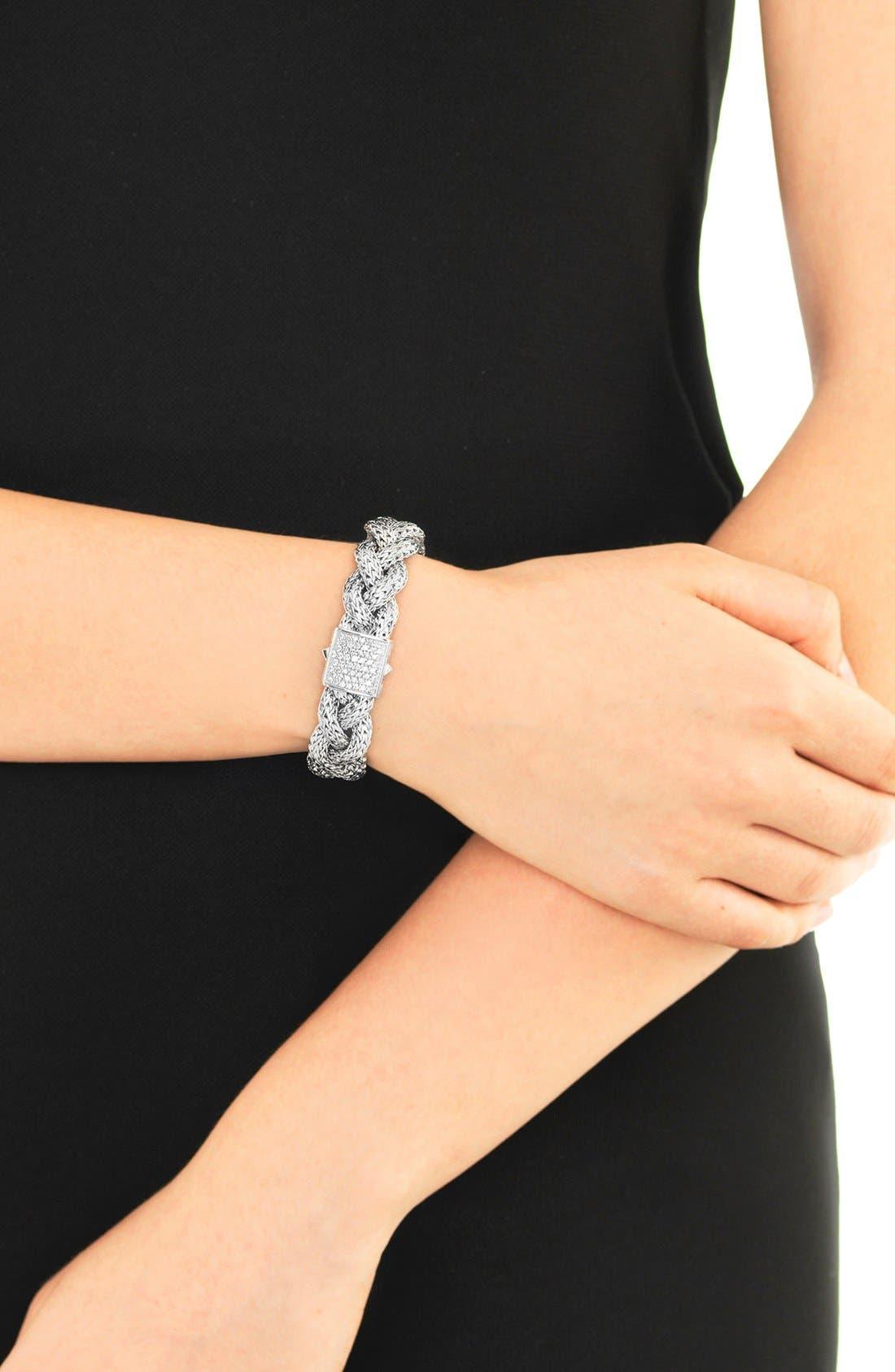 Alternate Image 2  - John Hardy 'Classic Chain' Medium Braided Bracelet