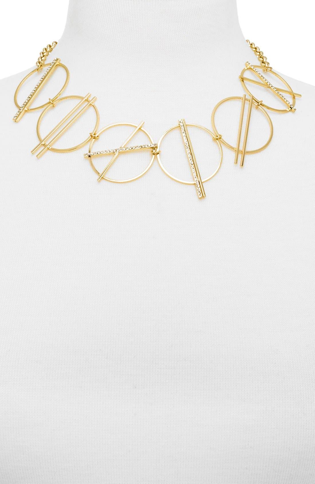 Alternate Image 2  - BaubleBar 'Signs' Collar Necklace