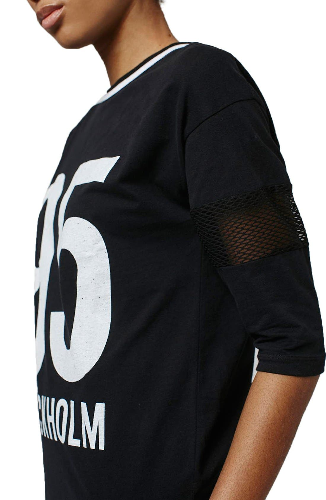 Alternate Image 5  - Topshop 'Stockholm' T-Shirt Dress