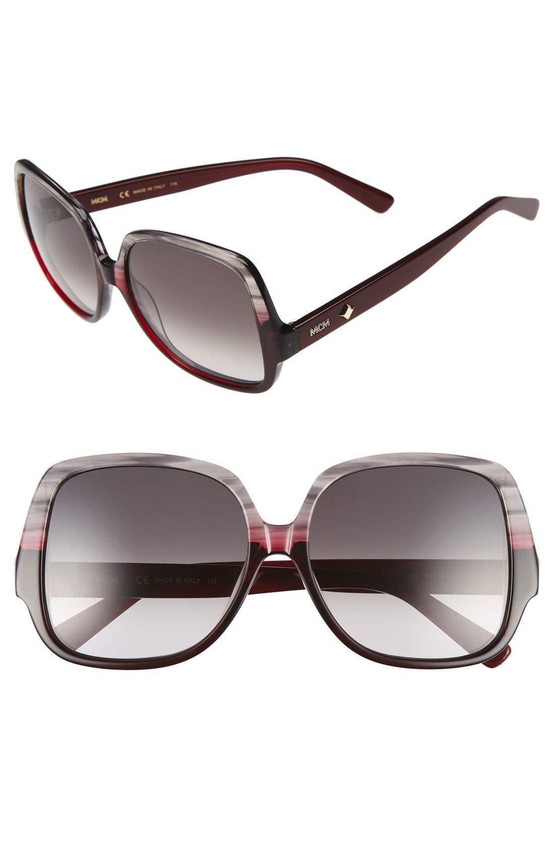 MCM 58mm Square Sunglasses