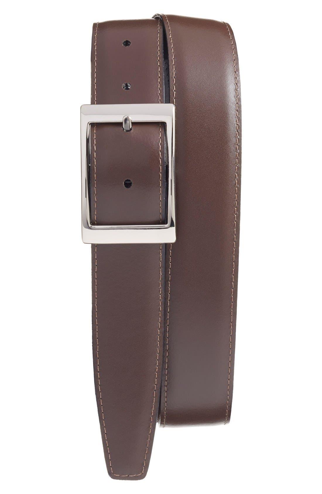 Alternate Image 2  - Torino Belts Reversible Leather Belt