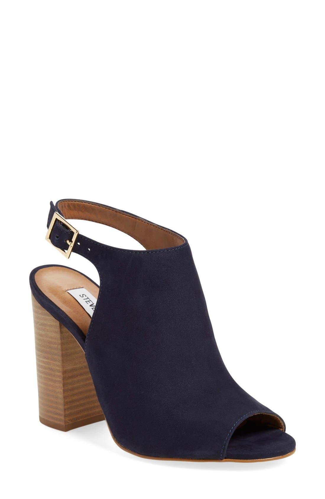 Alternate Image 1 Selected - Steve Madden 'Claara' Block Heel Sandal (Women)