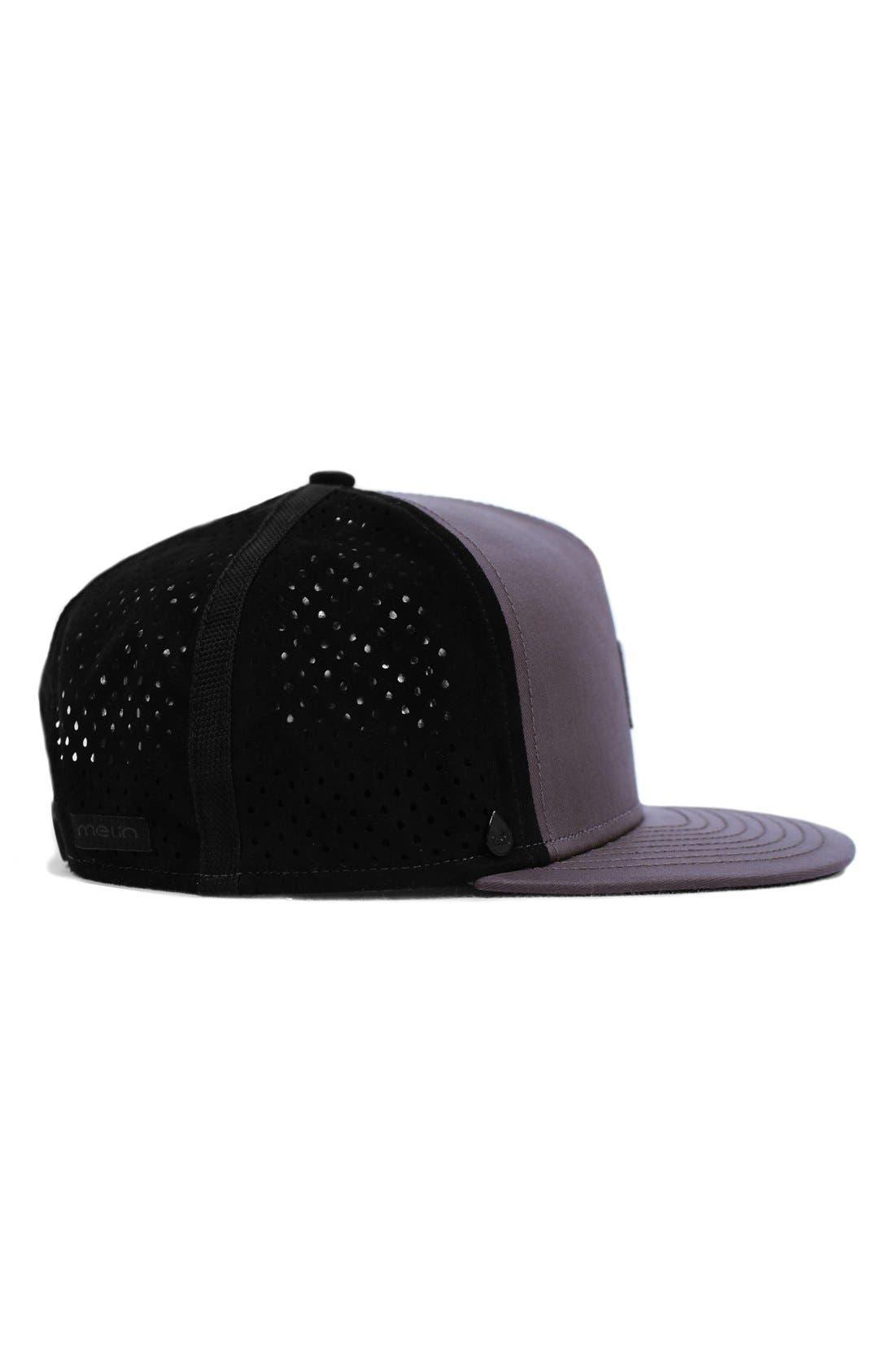 'The Nomad' Split Fit Snapback Baseball Cap,                             Alternate thumbnail 4, color,                             Taupe
