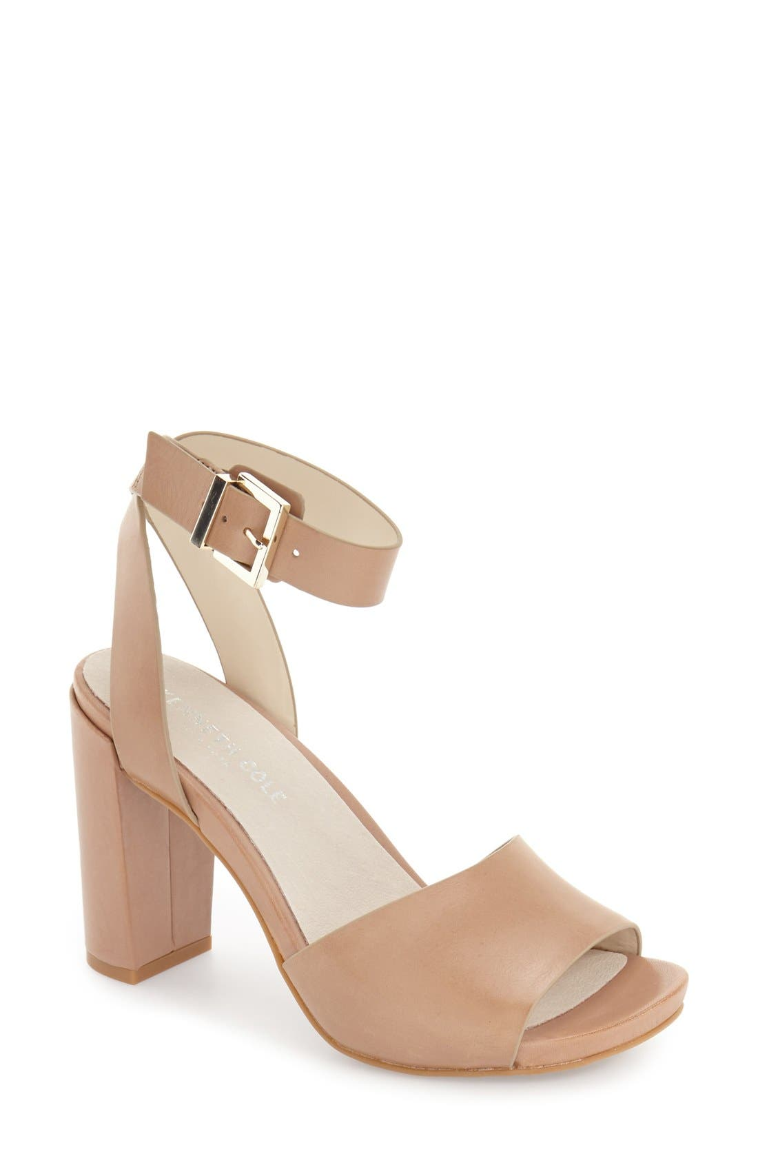 Kenneth Cole New York 'Toren' Block Heel Sandal (Women)