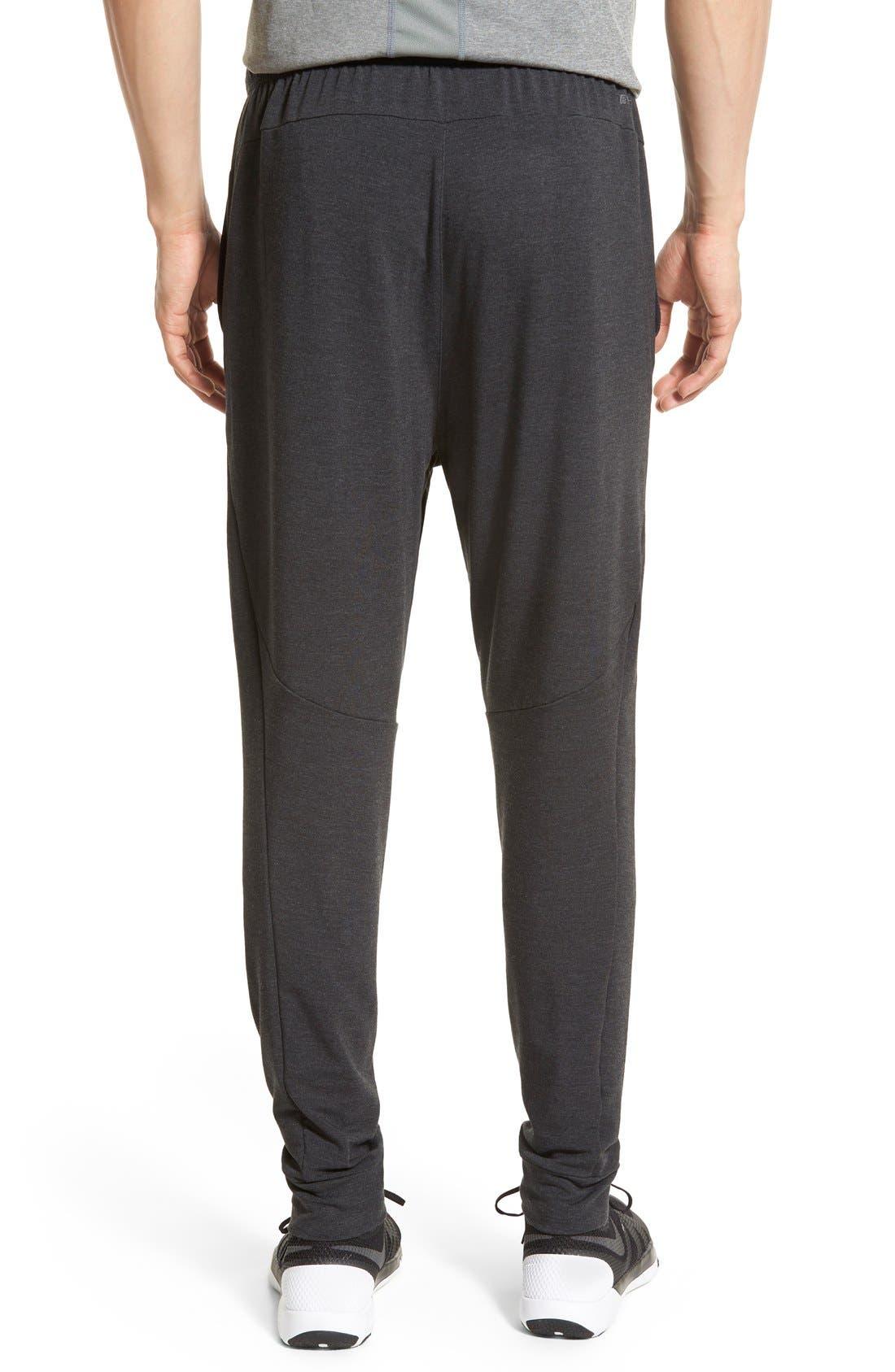 Dri-FIT Fleece Training Pants,                             Alternate thumbnail 2, color,                             Black/ Black
