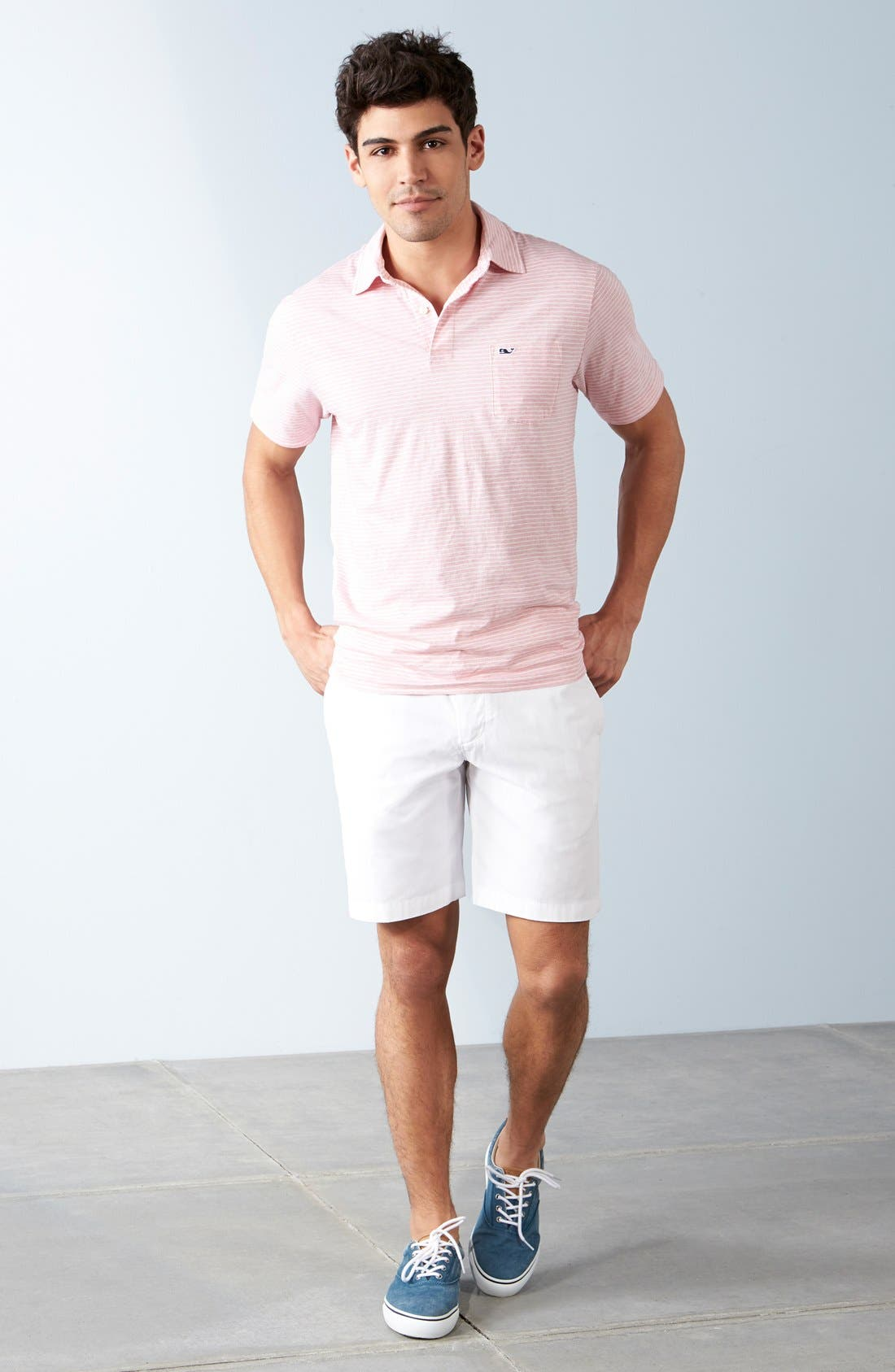 Alternate Image 7  - Vineyard Vines 'Feeder Stripe' Pima Cotton Polo