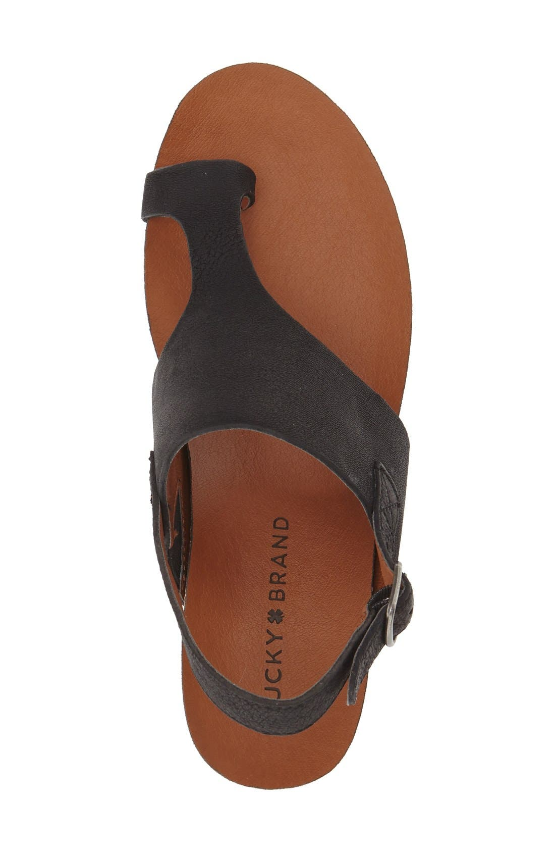 Alternate Image 3  - Lucky Brand 'Janessa' Espadrille Wedge Sandal (Women)