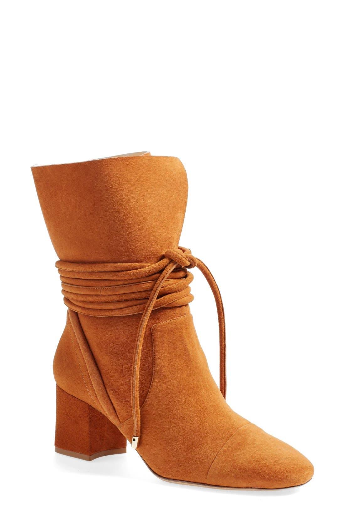 Main Image - Alexandre Birman 'Betsy' Wraparound Tie Boot (Women)