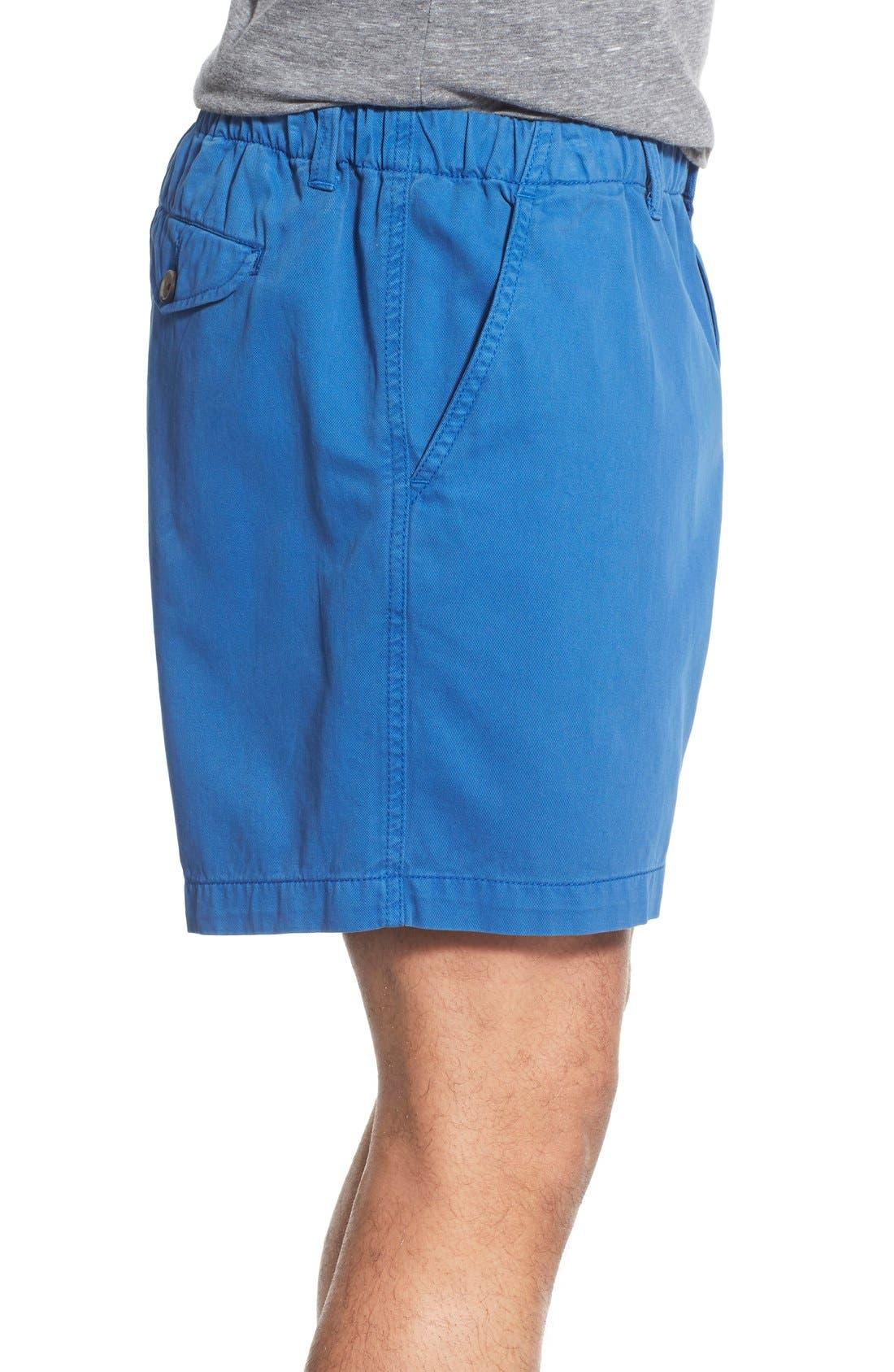 Alternate Image 3  - Vintage 1946 'Snappers' Vintage Washed Elastic Waistband Shorts