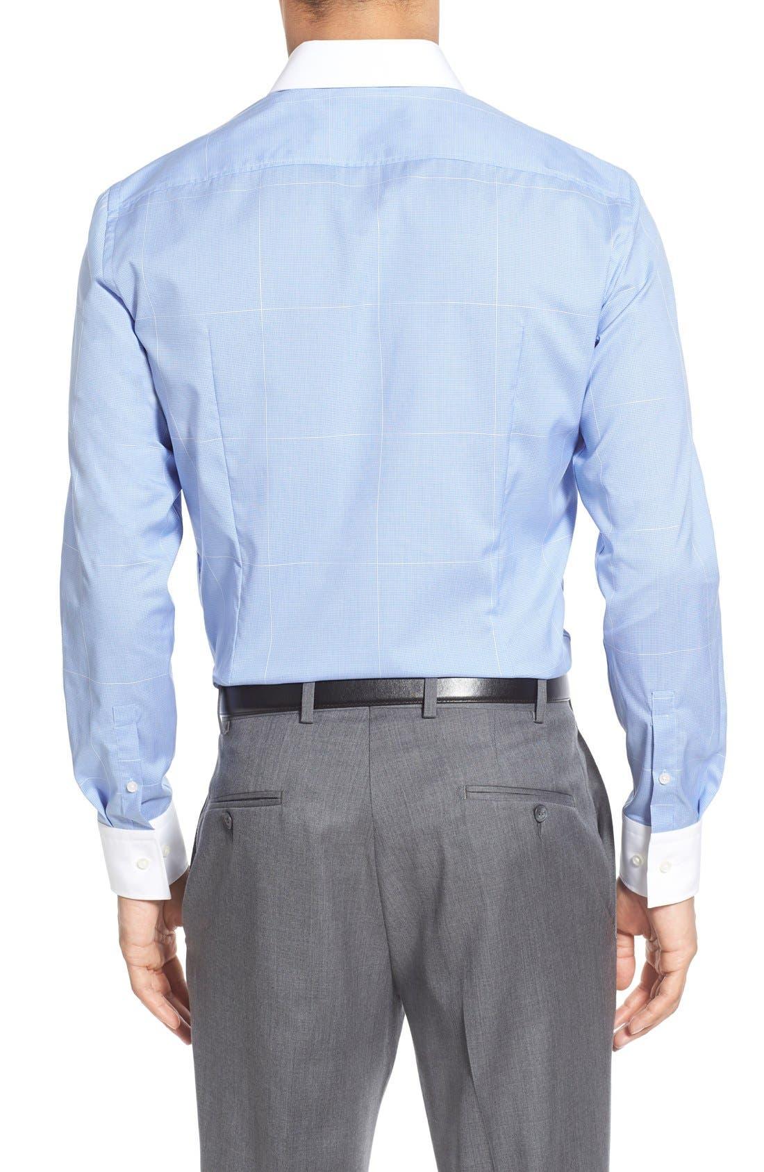 Alternate Image 3  - BOSS WW Slim Fit Easy Iron Check Dress Shirt