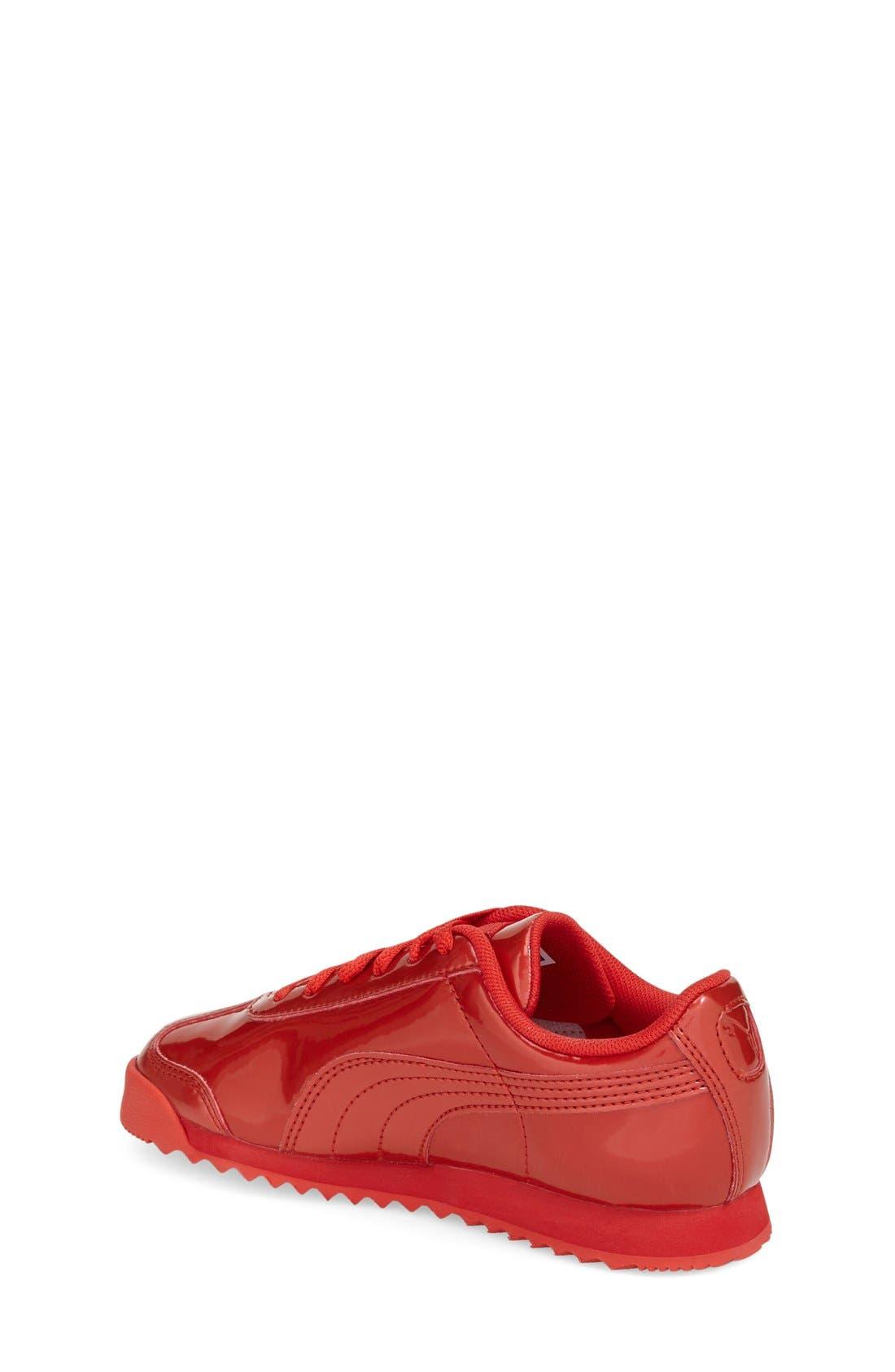 Alternate Image 2  - PUMA 'Roma' Sneaker (Toddler, Little Kid & Big Kid)