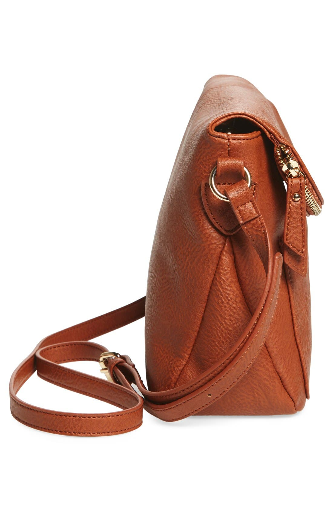Alternate Image 5  - BP. Zip Flap Faux Leather Crossbody Bag