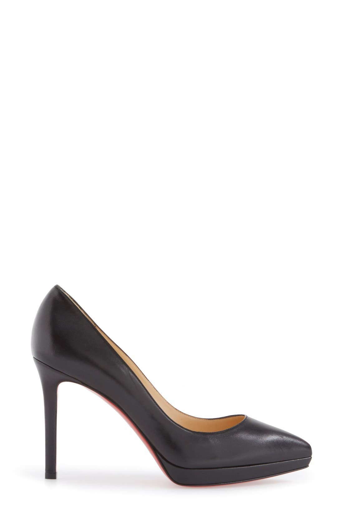 Alternate Image 3  - Christian Louboutin Pigalle Plato Pointy Toe Platform Pump