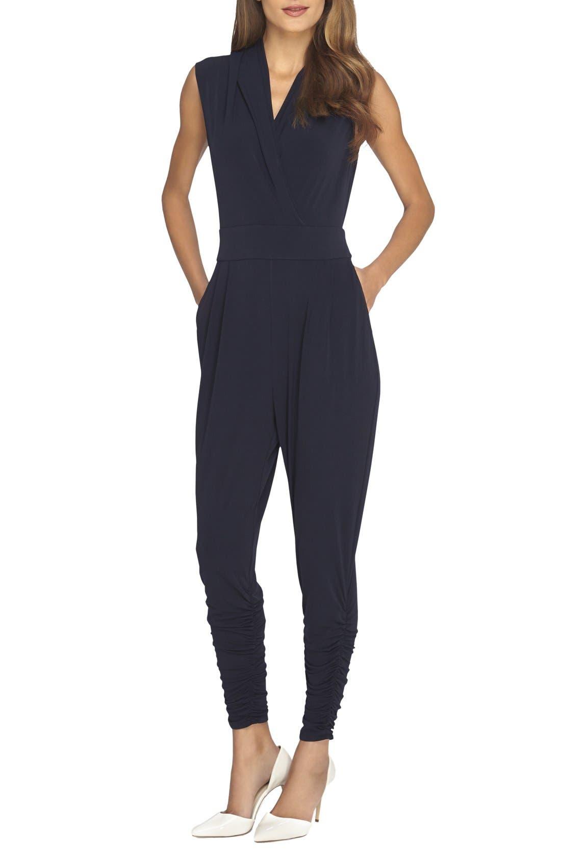 Alternate Image 1 Selected - Catherine Catherine Malandrino 'Graham' Sleeveless Jumpsuit