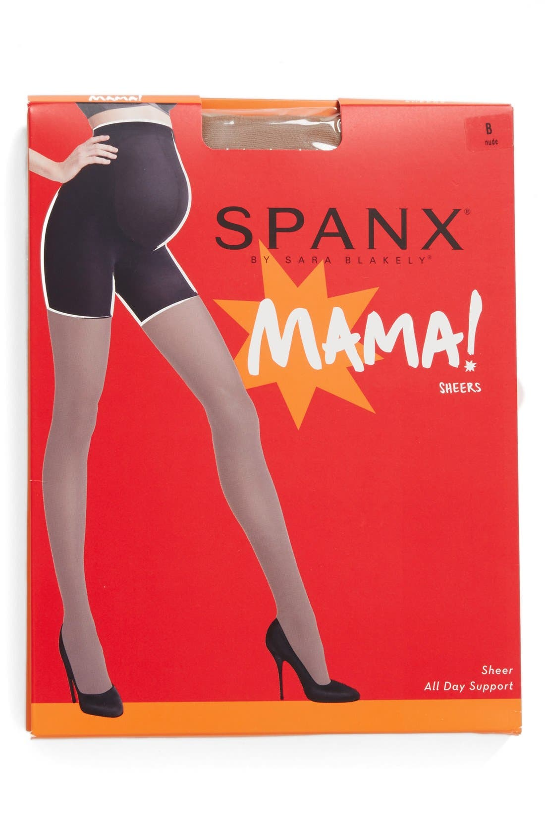 Alternate Image 2  - SPANX® Mama Maternity Shaping Tights
