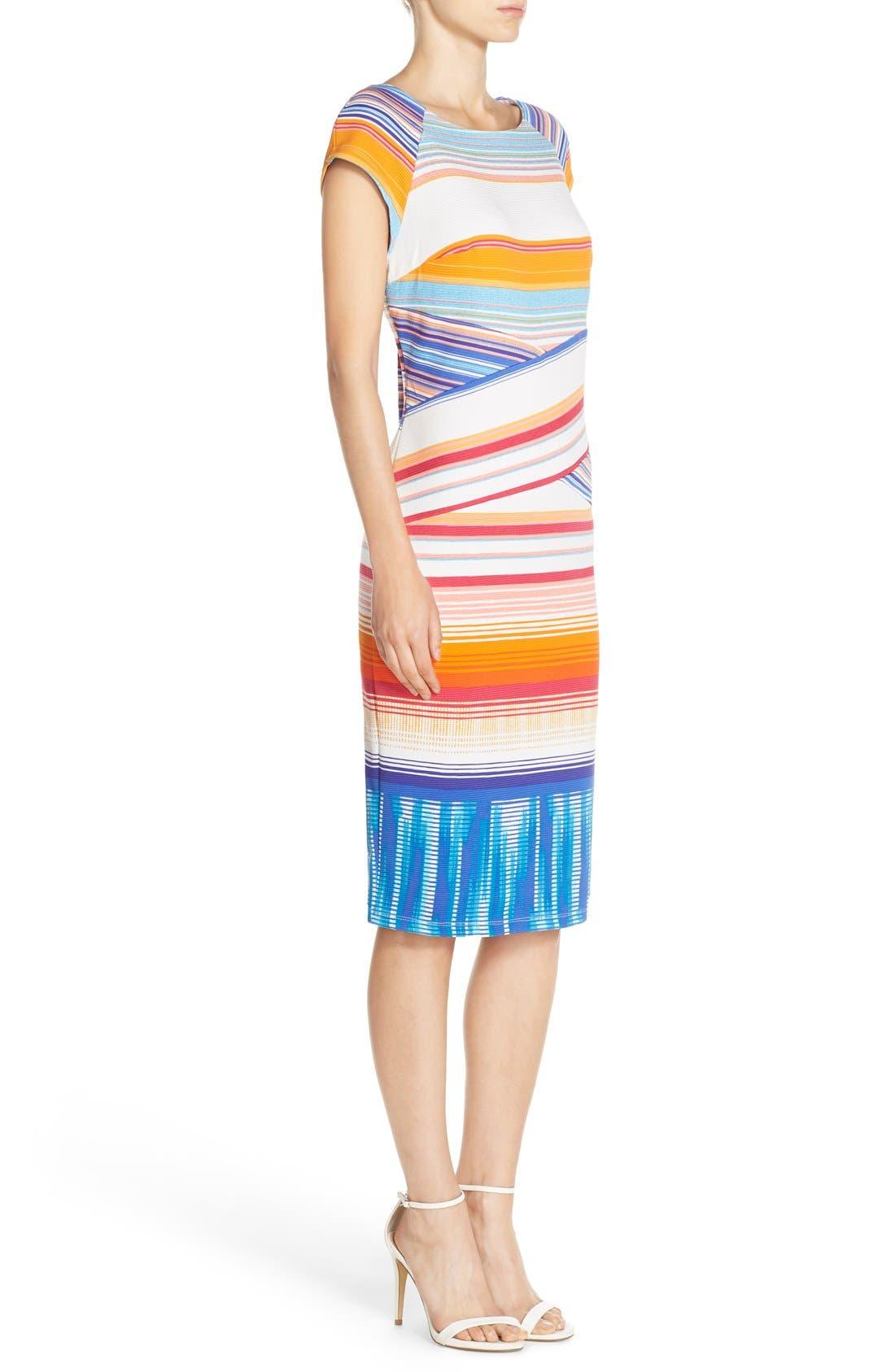 Alternate Image 3  - ECI Stripe Knit Midi Dress