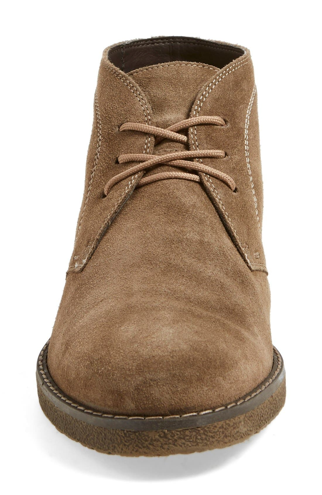 'Tyler' Chukka Boot,                             Alternate thumbnail 3, color,                             Taupe Suede