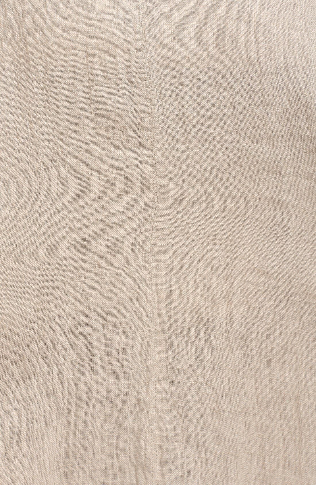 Alternate Image 5  - Elie Tahari 'Florence' High/Low Linen Skirt