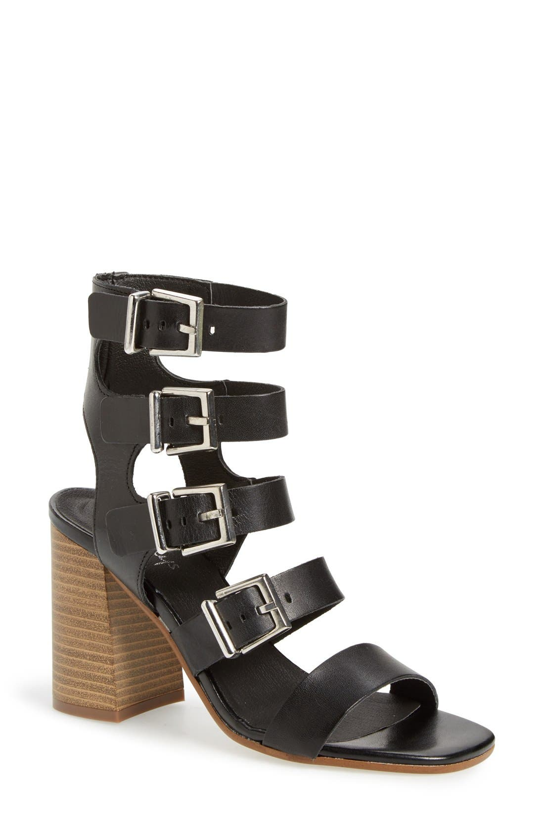Alternate Image 1 Selected - Shellys London 'Joey' Block Heel Sandal (Women)